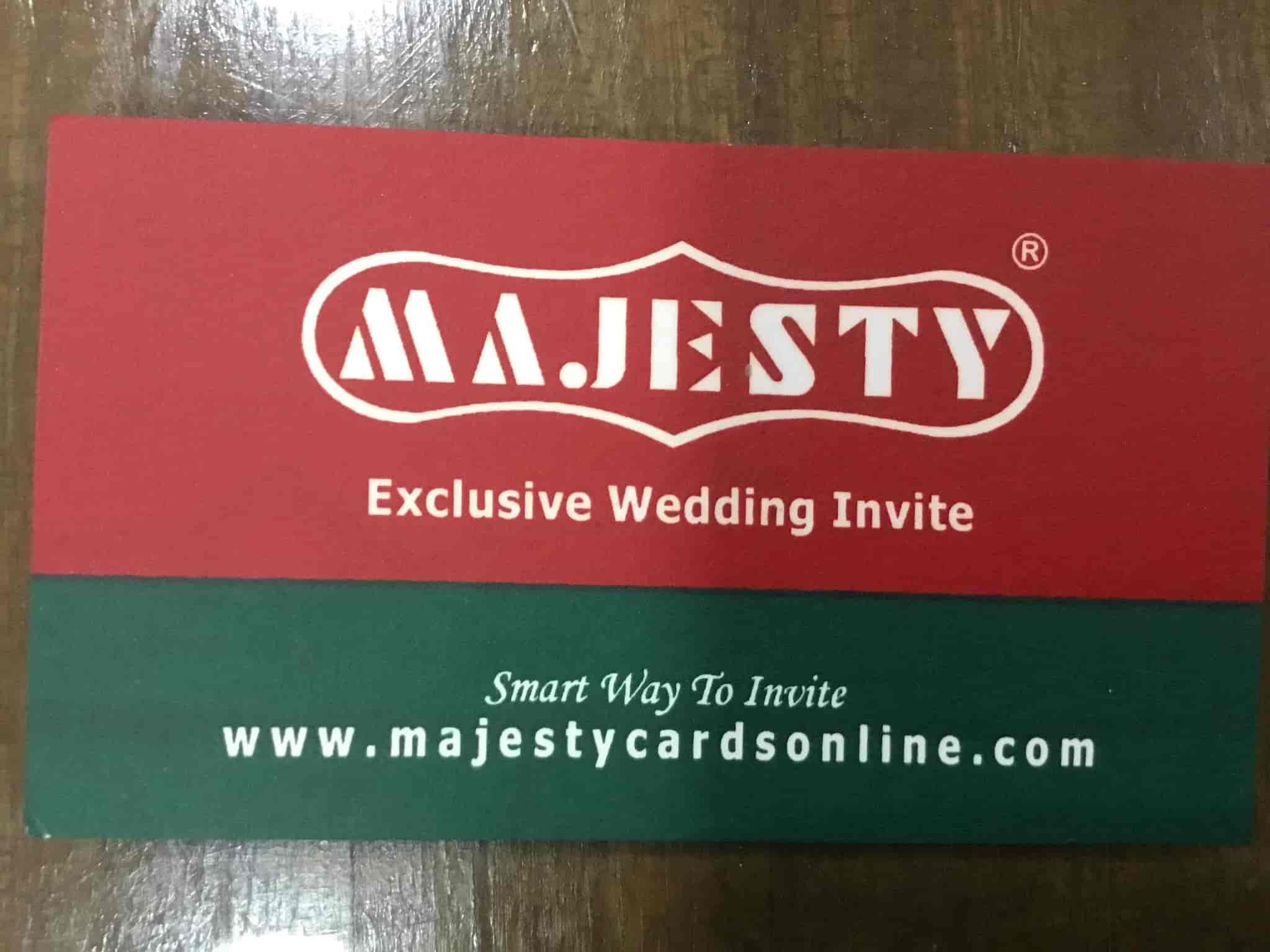 Majesty Cards, Navrangpura - Majesty Agencies - Wedding Card ...
