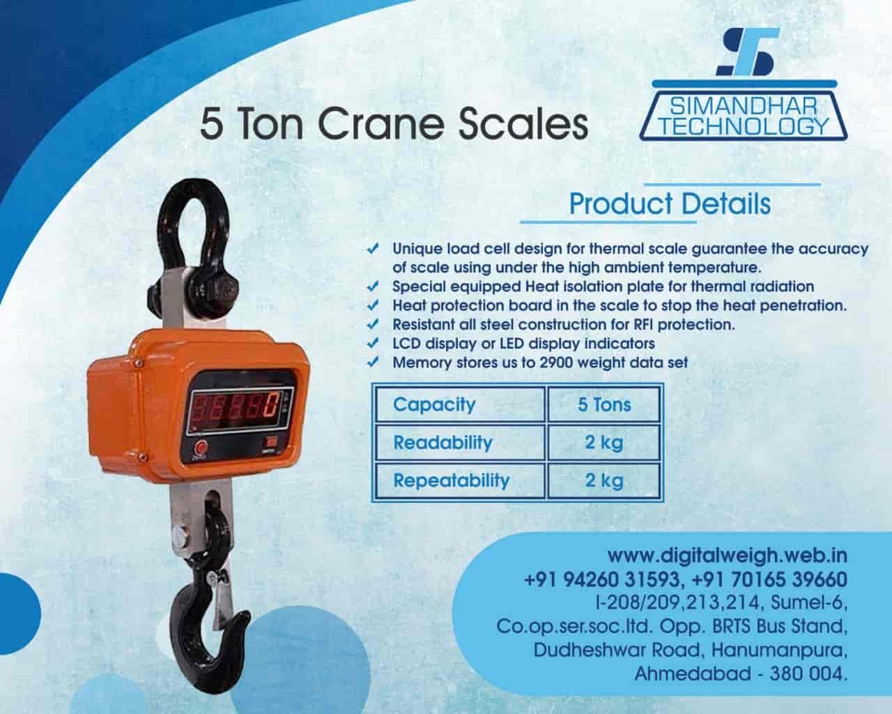 Simandhar Technology, Dariapur - Weighing Machine Dealers in