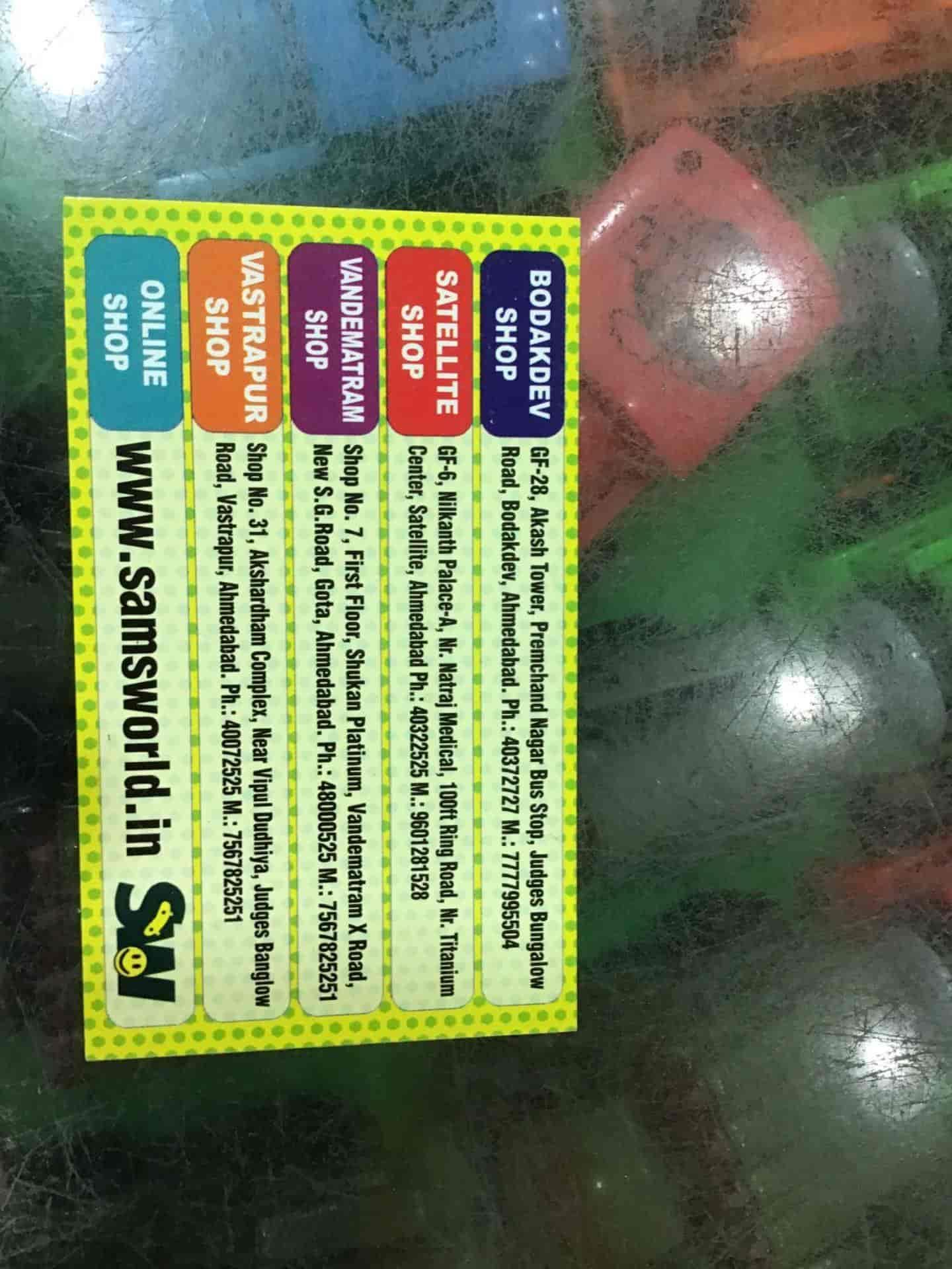 Sams Toy World, Satellite - Sports Goods Dealers in