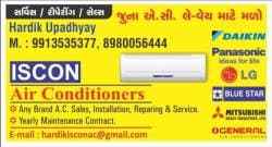 Iscon Air Conditioners - Authorise Service Centre Of OG