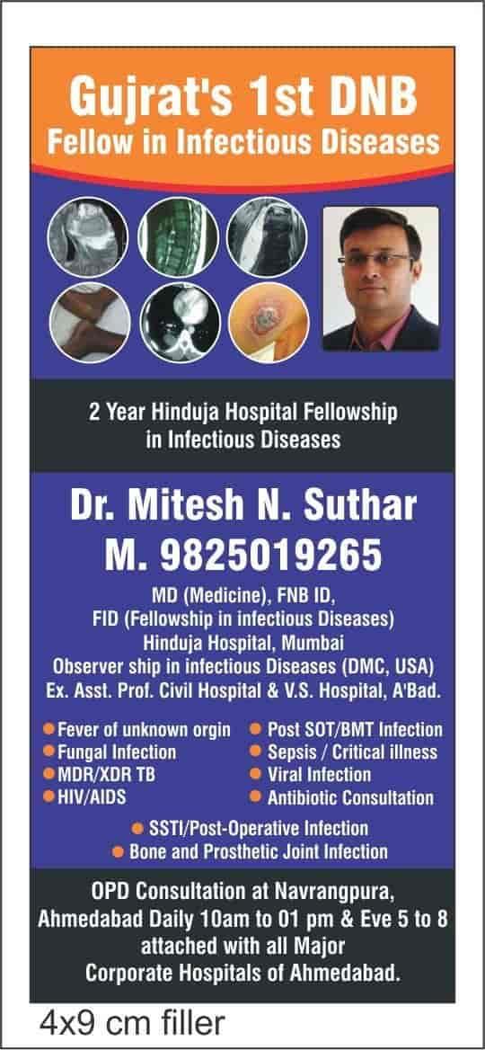 Dr Mitesh Suthar Reviews, Navrangpura, Ahmedabad - 13 Ratings - Justdial