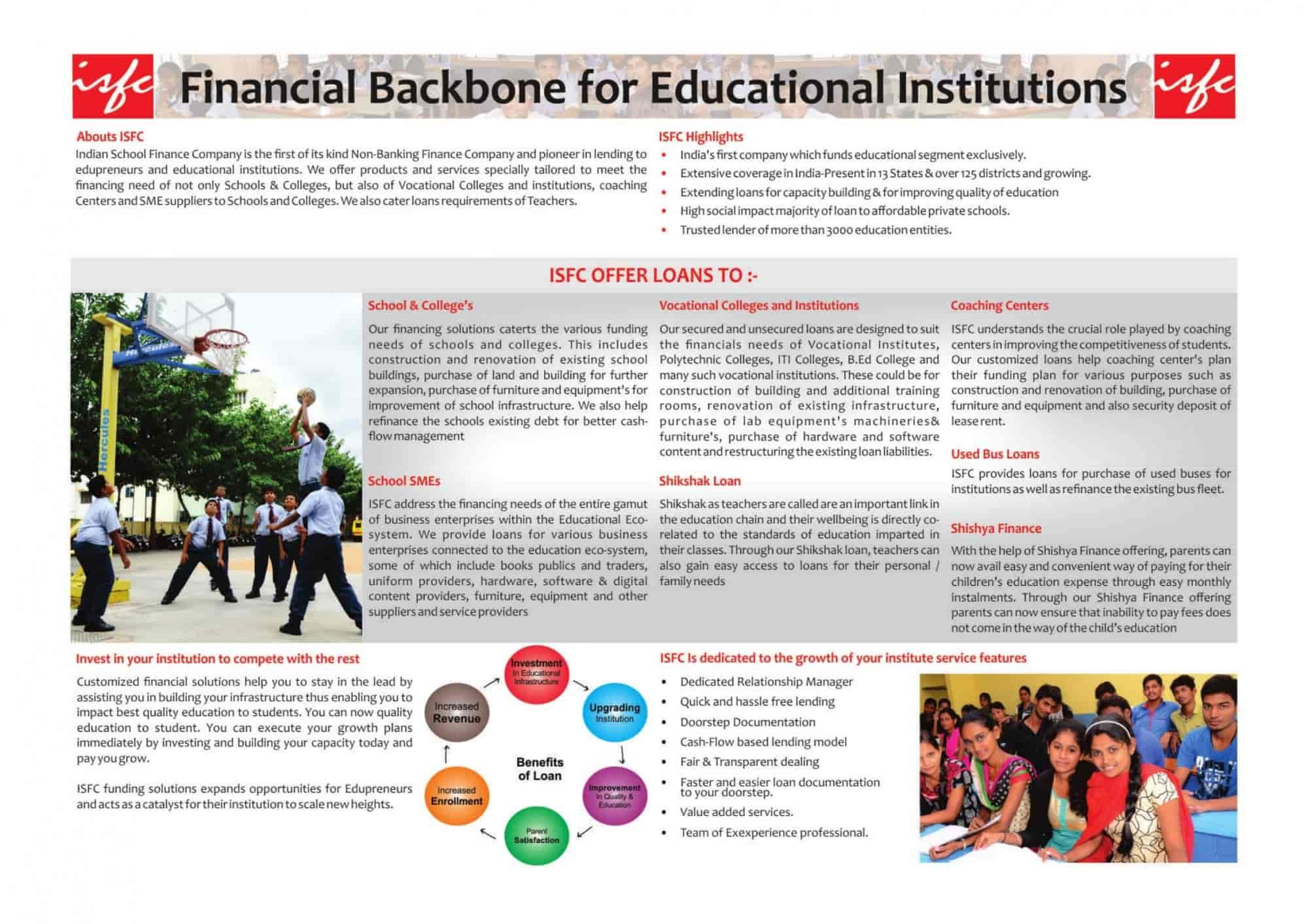 Indian School Finance Company PVT LTD in Ahmedabad - Justdial