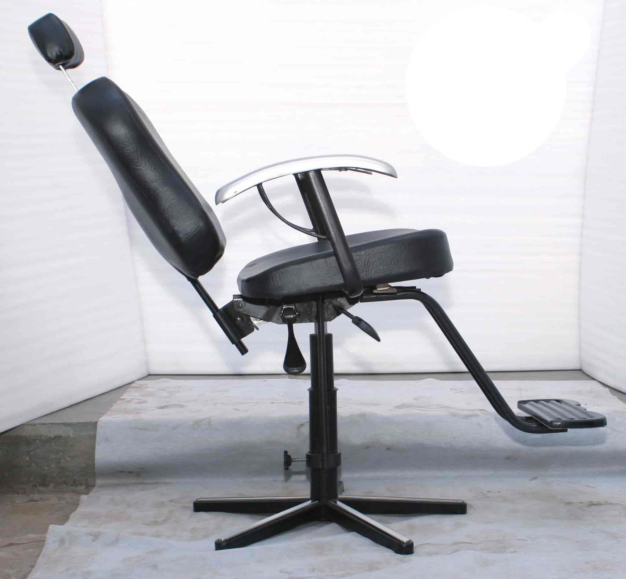 stock only italica hard saloon side fast ita in hair view styling katy black urethane shipping armrests chair comfort