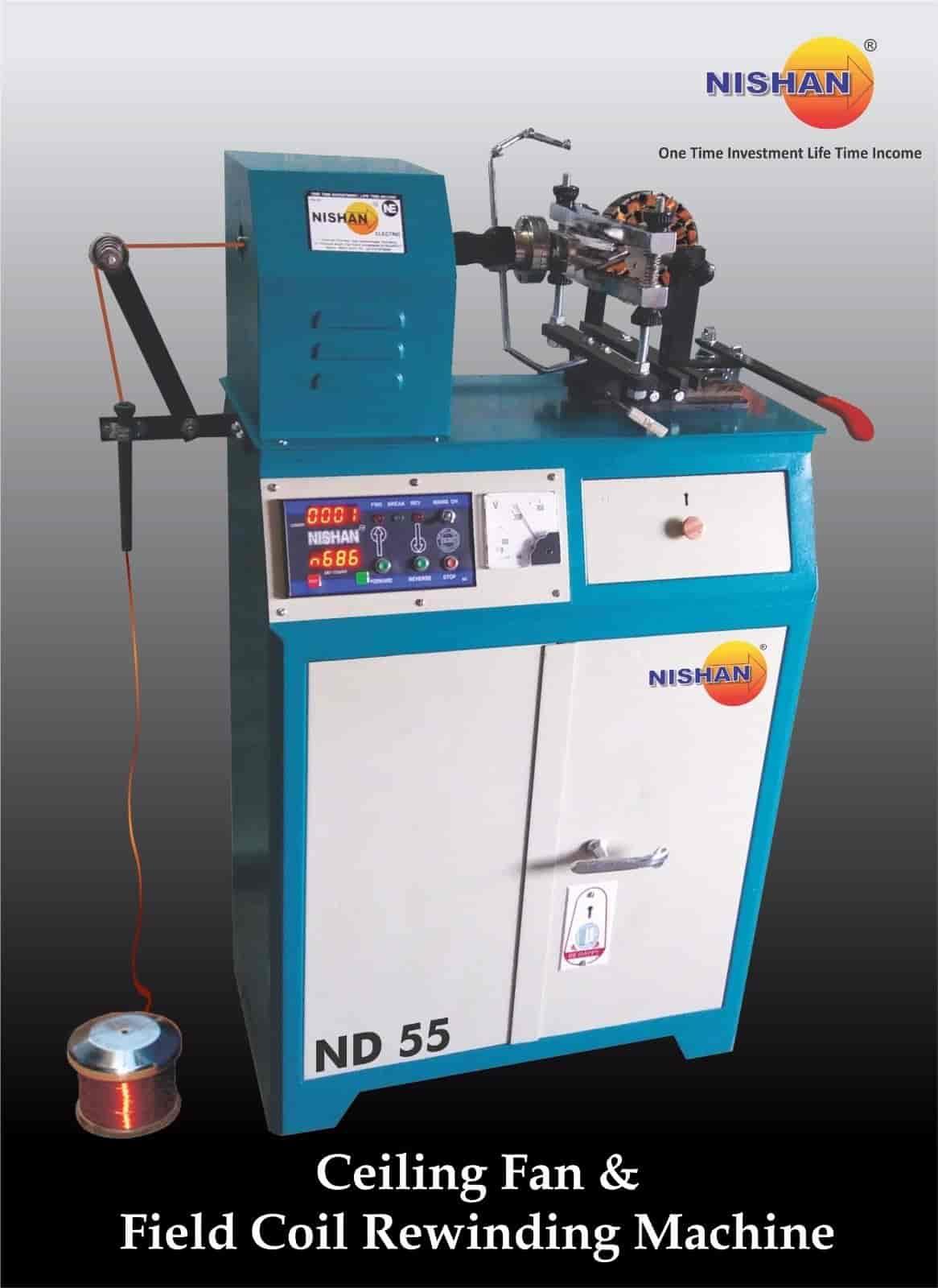 Nishan Electric, Bapunagar - Winding Machine Fan Manufacturers in ...