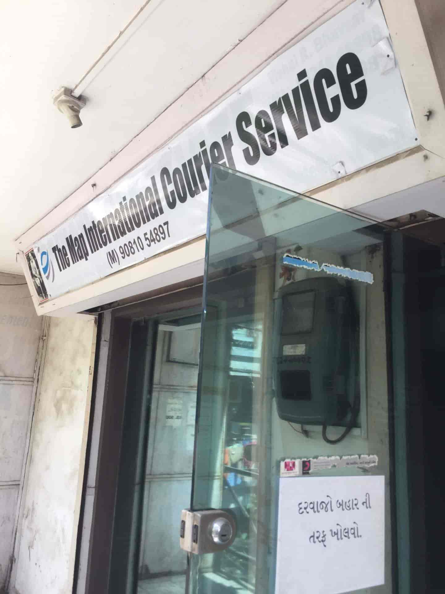 The Map International Courier Service Bapunagar Ahmedabad International Courier Services Justdial