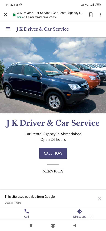J K Driver Car Service Amraiwadi Driver Service Agents In Ahmedabad Justdial