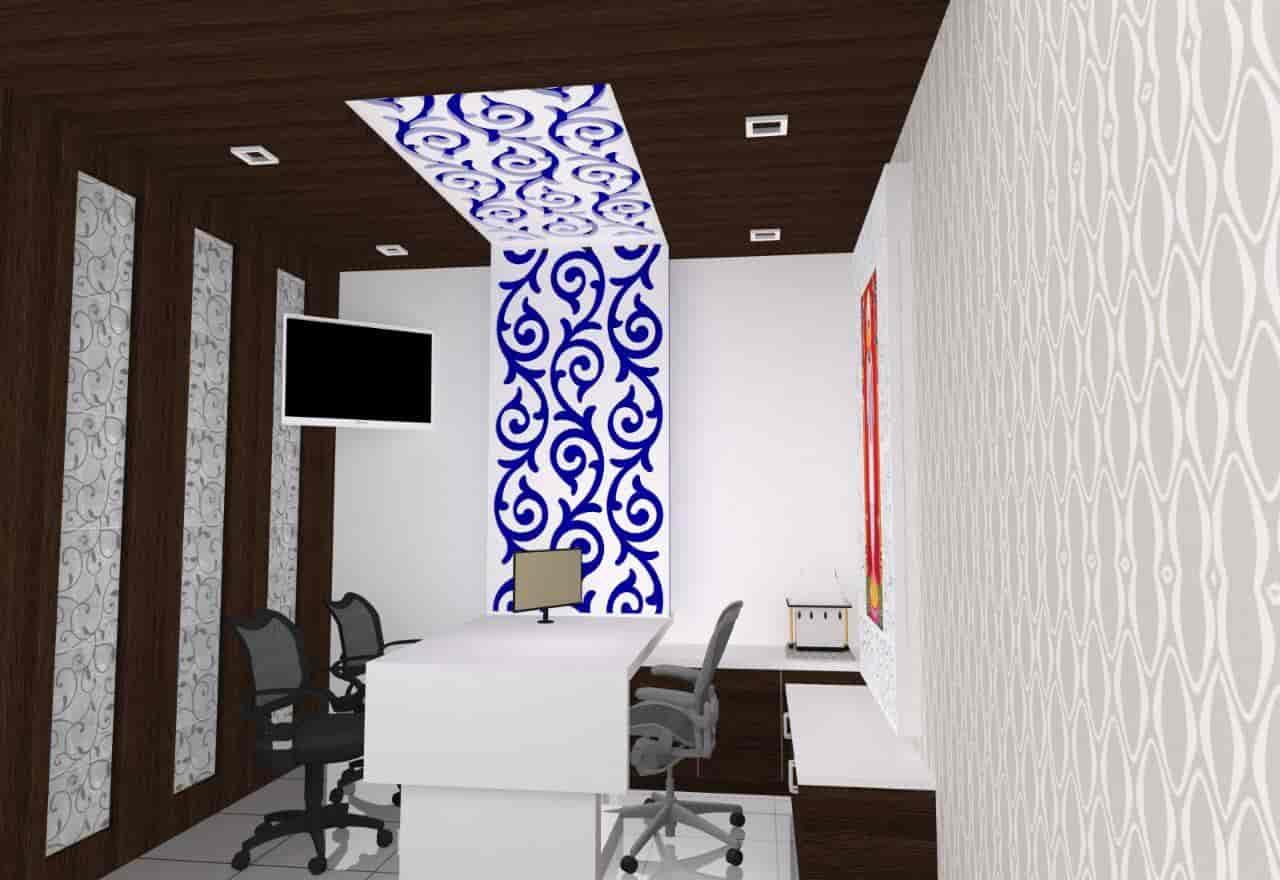 ... Office 3d Plan   Interior Designer Ahmedabad Mn Interior Photos, Ranip,  Ahmedabad   Interior ...