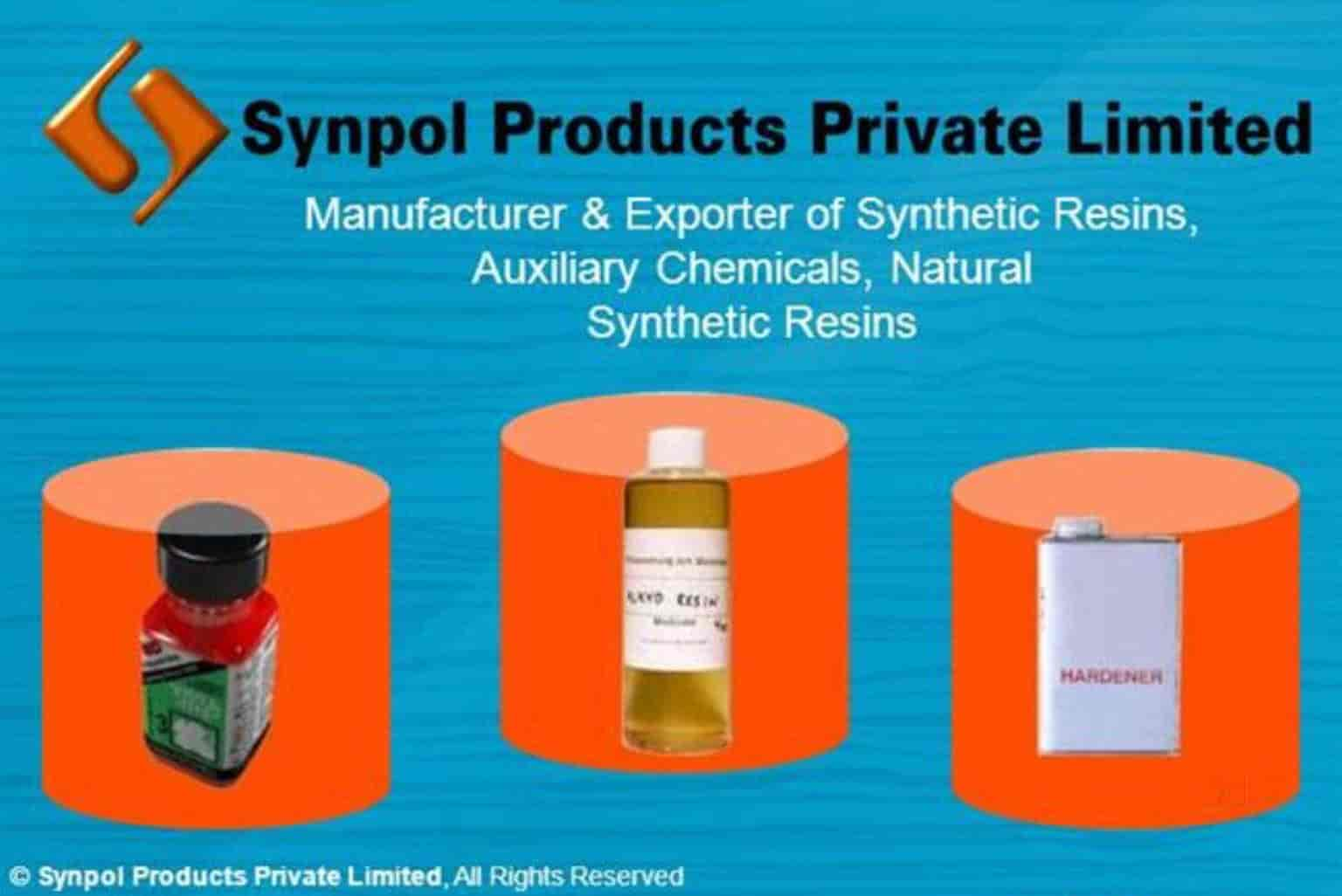 Synpol Products Pvt Ltd, Odhav - Synthetic Resin Manufacturers in