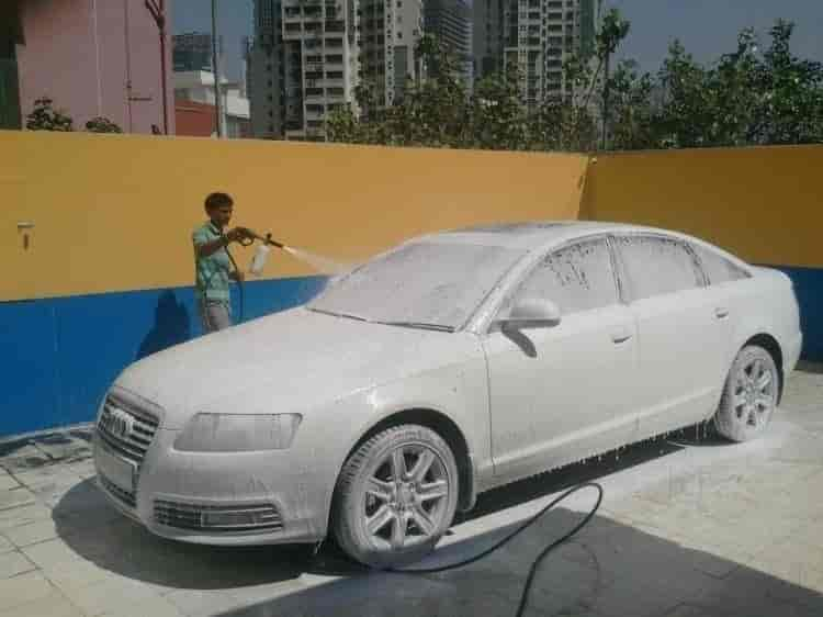Premium Car Wash Photos Thaltej Ahmedabad Pictures Images - Audi car wash