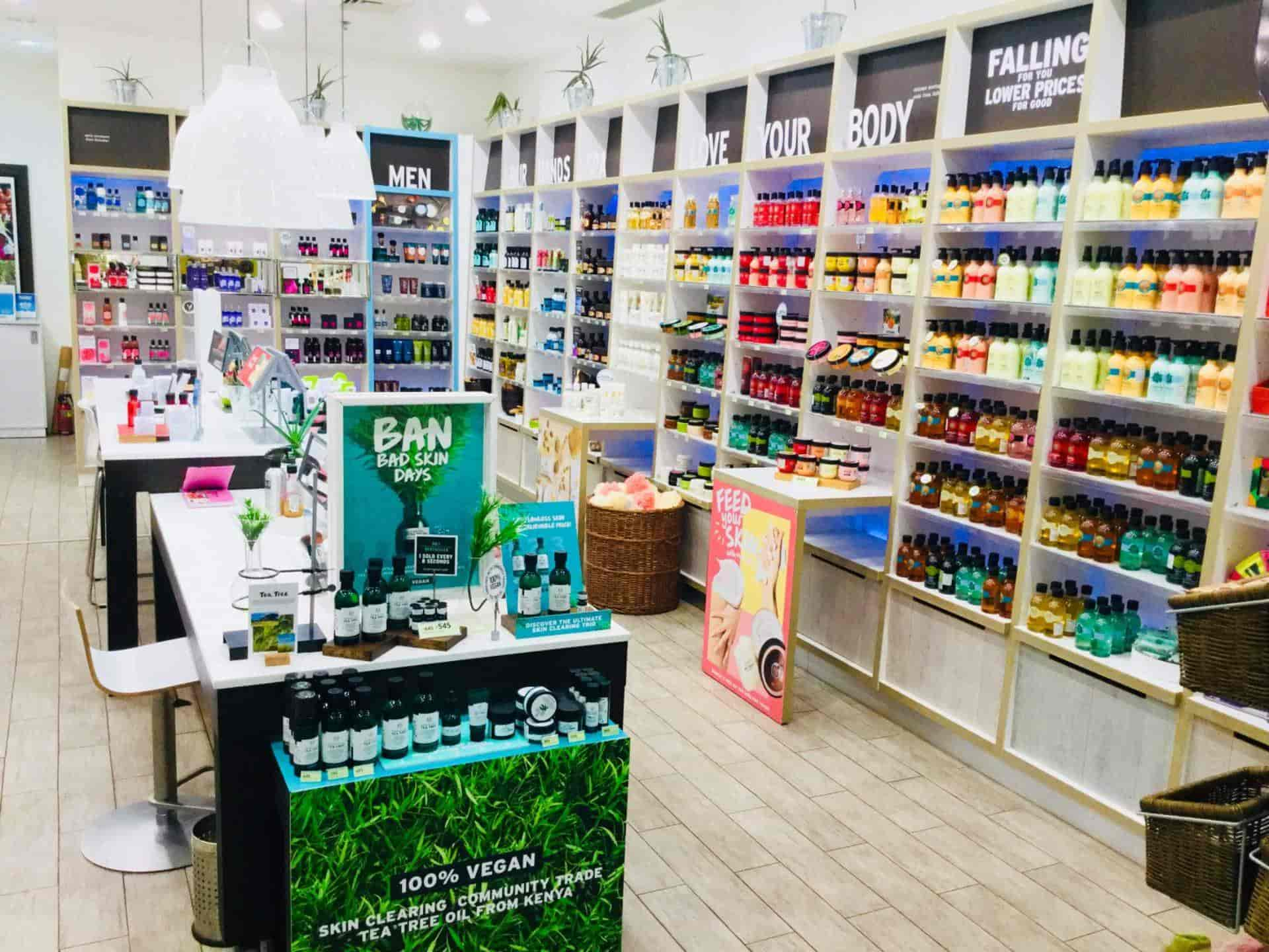 The Body Shop, C G Road - Cosmetic Dealers in Ahmedabad