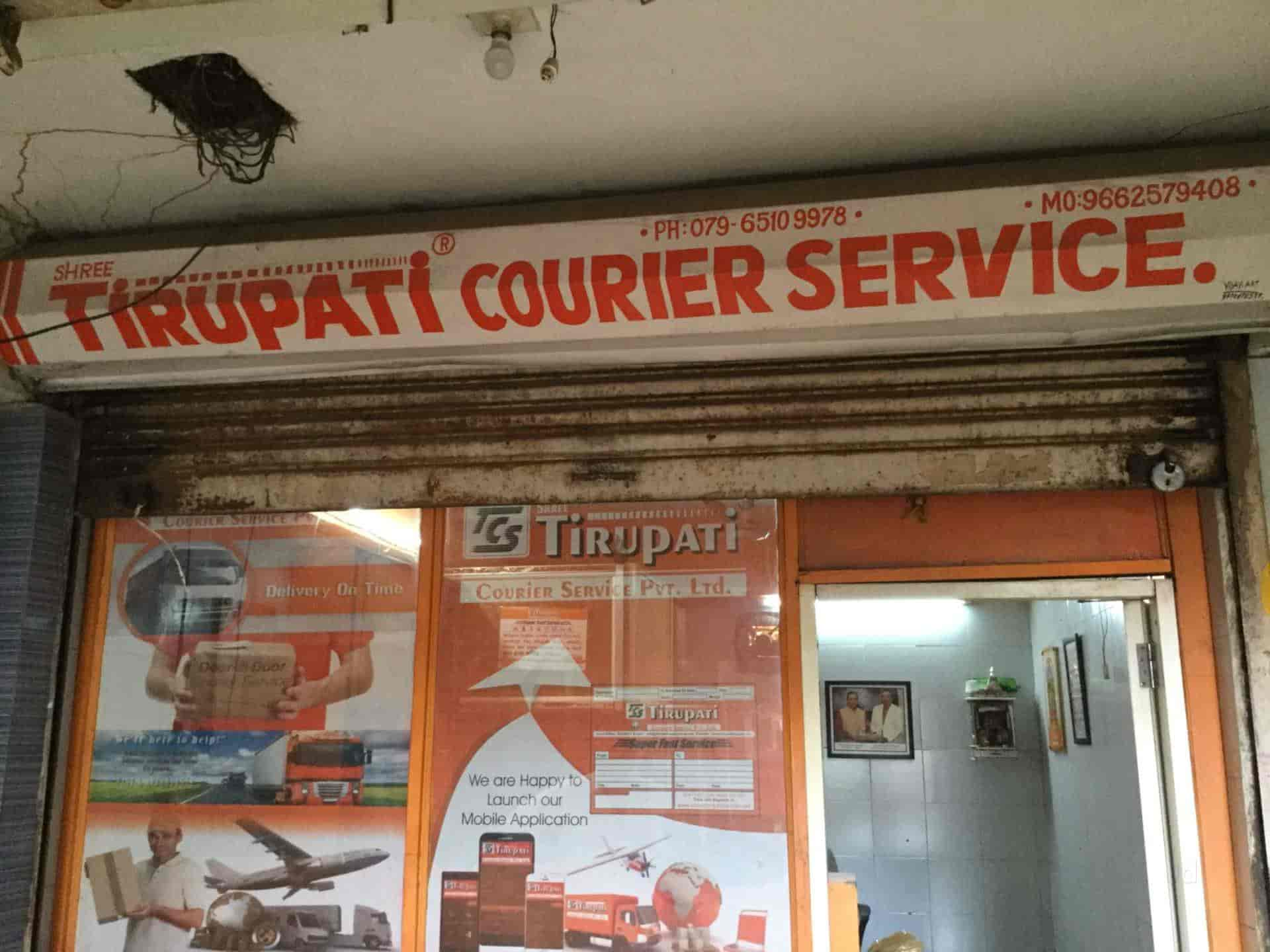 Shree Tirupati Courier Services Bapunagar Courier Services In Ahmedabad Justdial