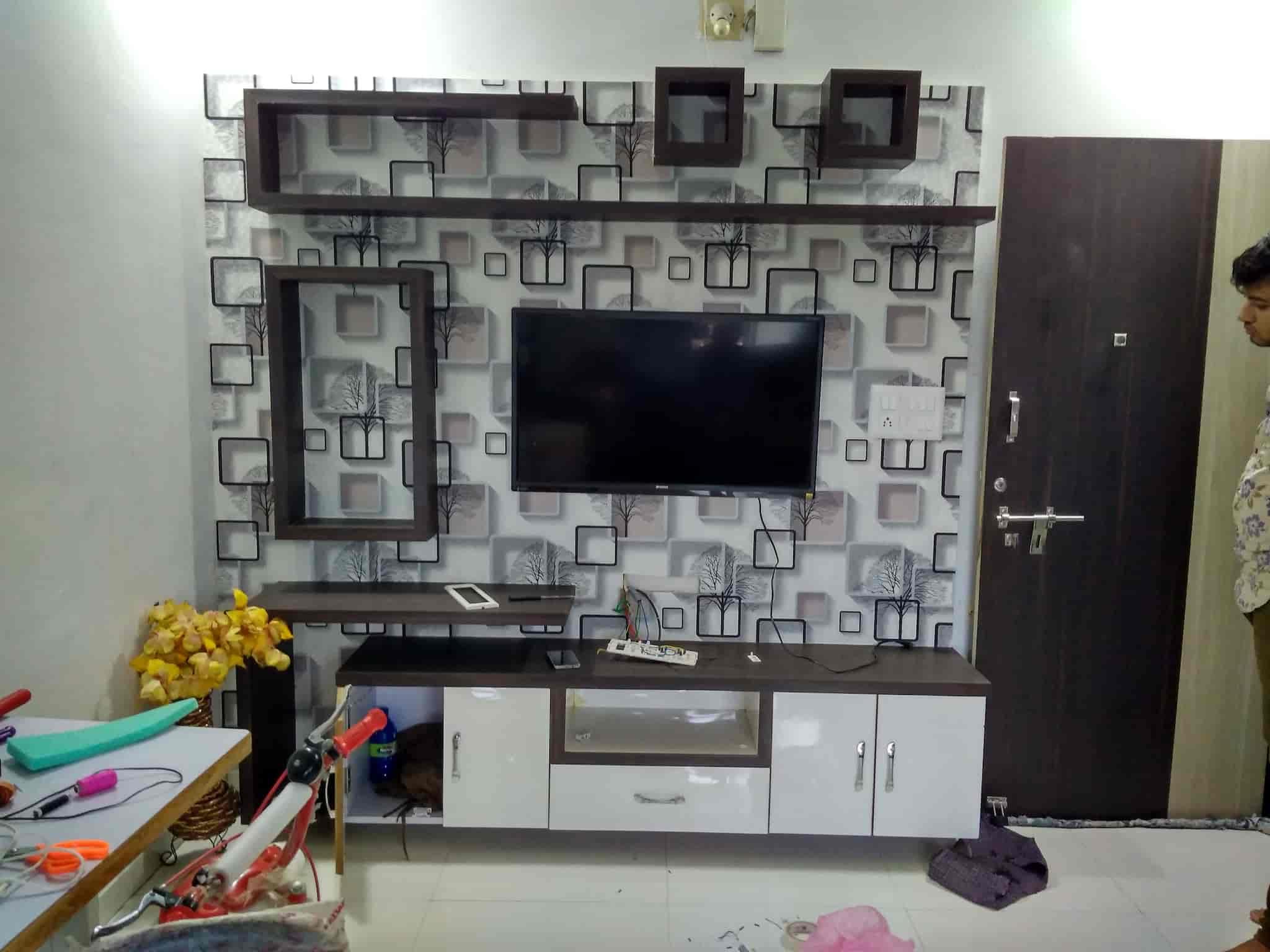 ... Wall Paaper   New Look Home Decor Photos, Krishna Nagar, Ahmedabad    Wall Paper ...