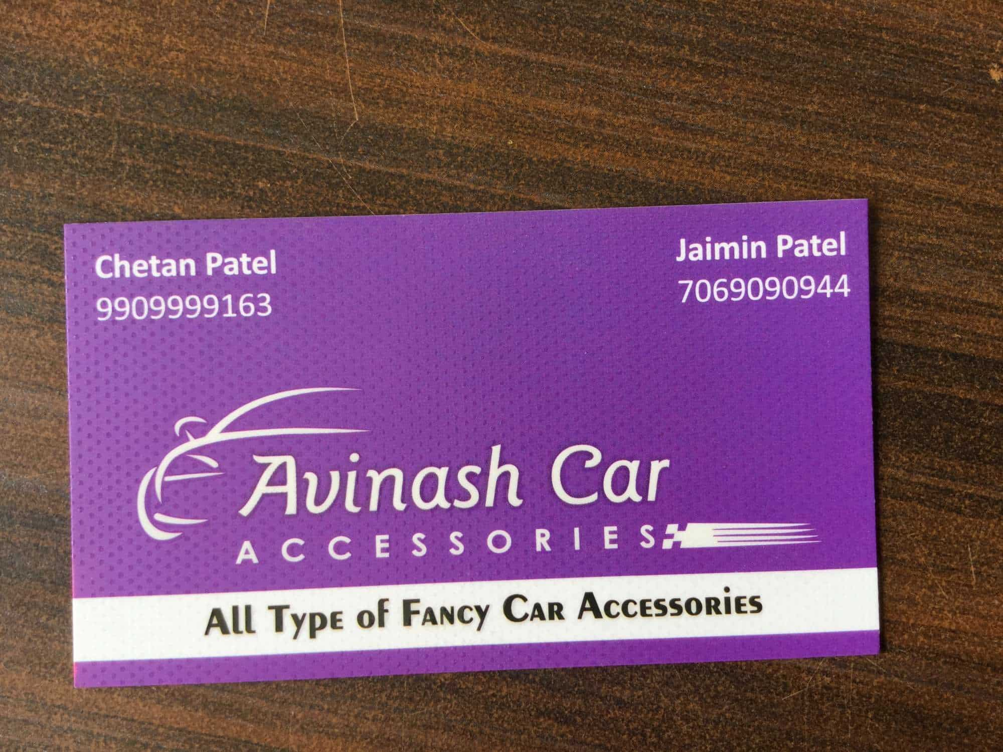 Avinash Car Accessories, Vastral - Car Accessory Dealers in