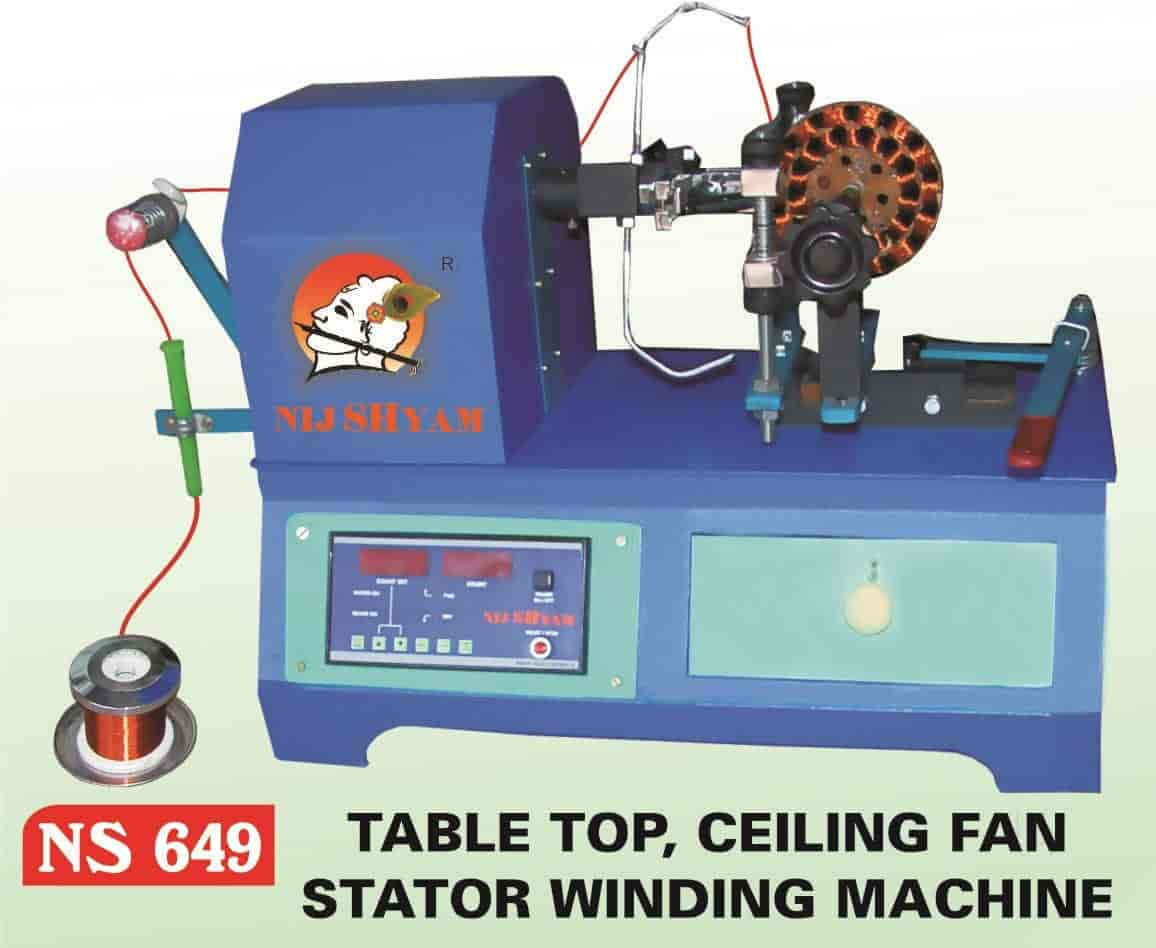 Nij Shyam Electric Bapunagar Sham Winding Machine Fan Manufacturers In Ahmedabad Justdial