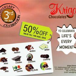 Kriga Homemade Chocolate, New Vadaj, Ahmedabad - Desserts Cuisine
