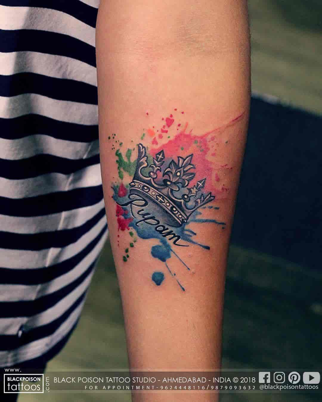 3a7938662b177 Black Poison Tattoos Photos, Vastrapur, Ahmedabad- Pictures & Images  Gallery - Justdial