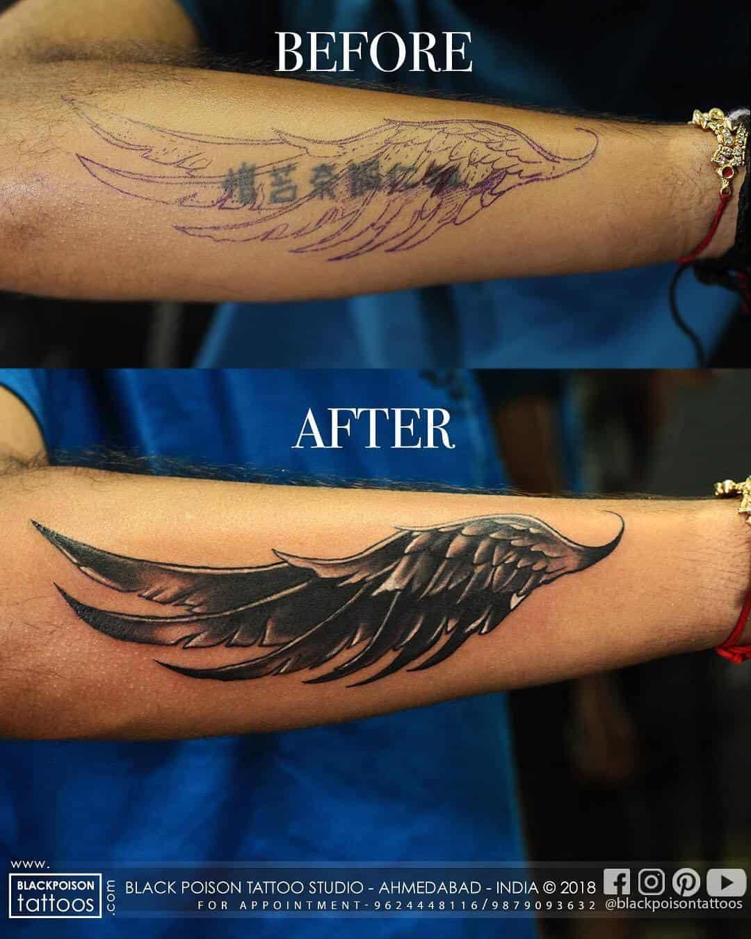 072bd576865c9 ... Black Poison Tattoos Photos, Vastrapur, Ahmedabad - Tattoo Artists ...