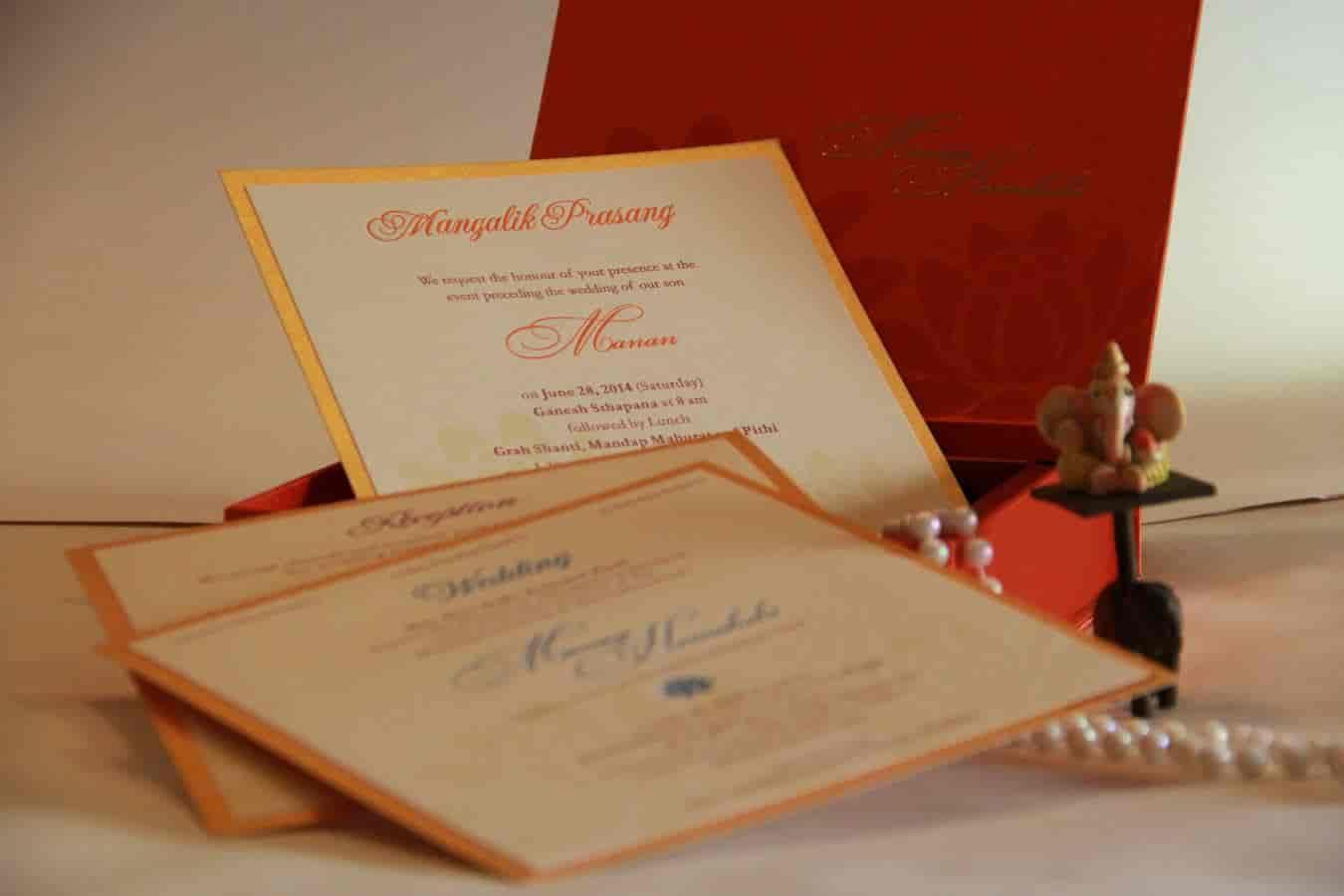 Invitations design studio satellite wedding card printers in invitations design studio satellite wedding card printers in ahmedabad justdial stopboris Choice Image