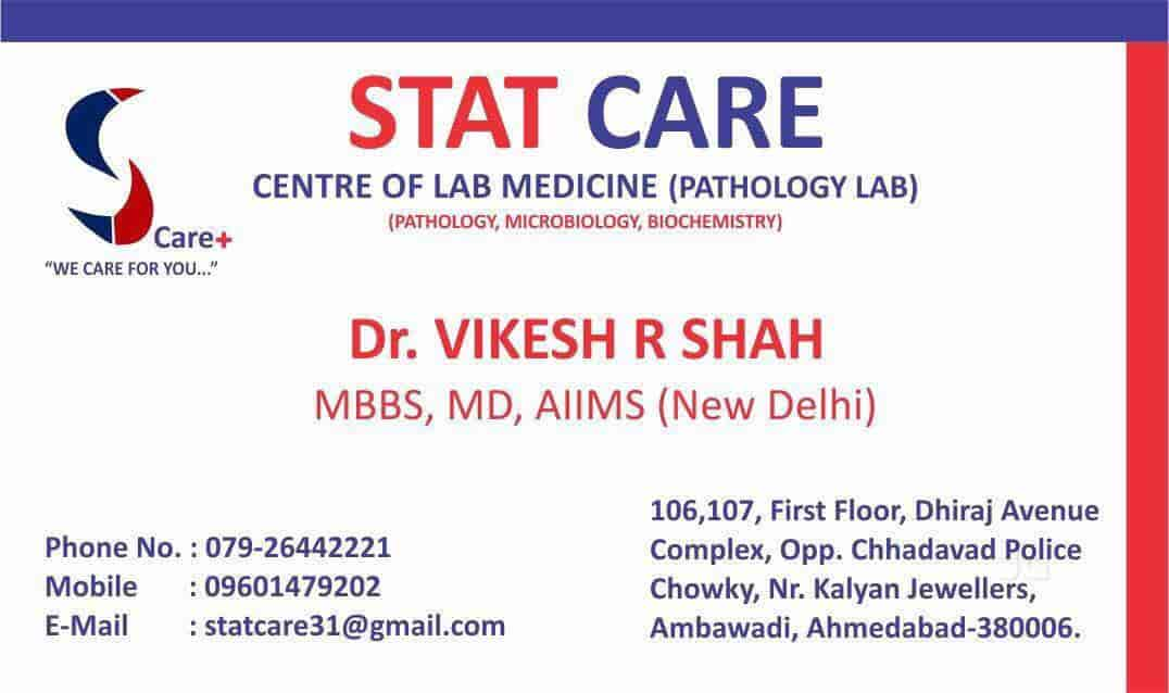 stat care centre of lab medicine pathology l ambawadi stat care rh justdial com