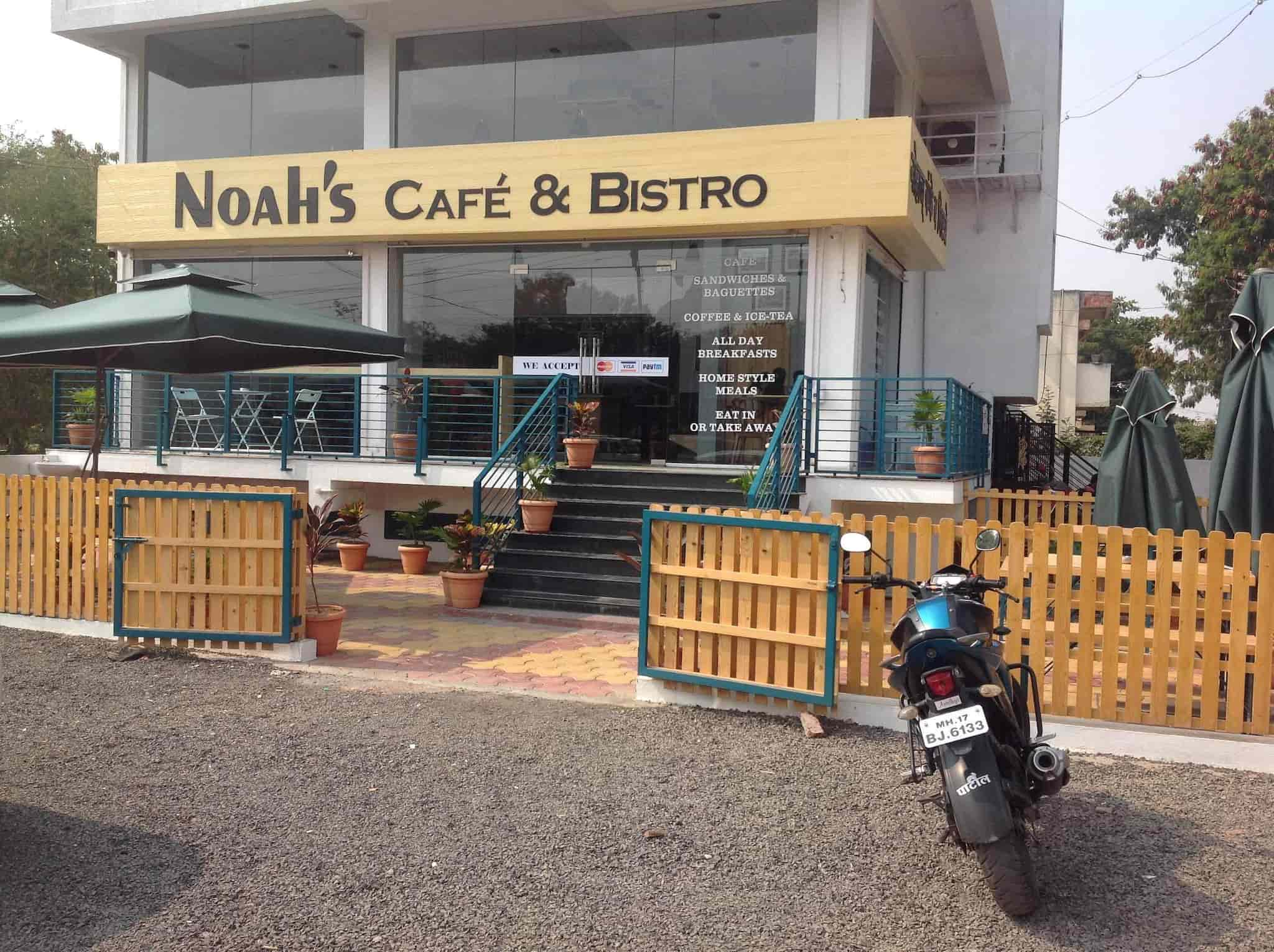 Cafe Noah noahs cafe and bistro savedi ahmednagar fast food justdial