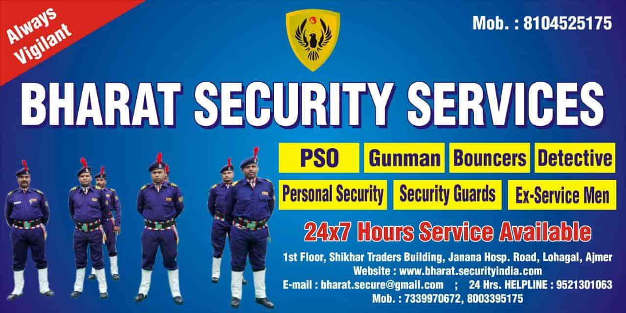 Bharat Security Services Near Lohagal Choraha Security Services In Ajmer Justdial
