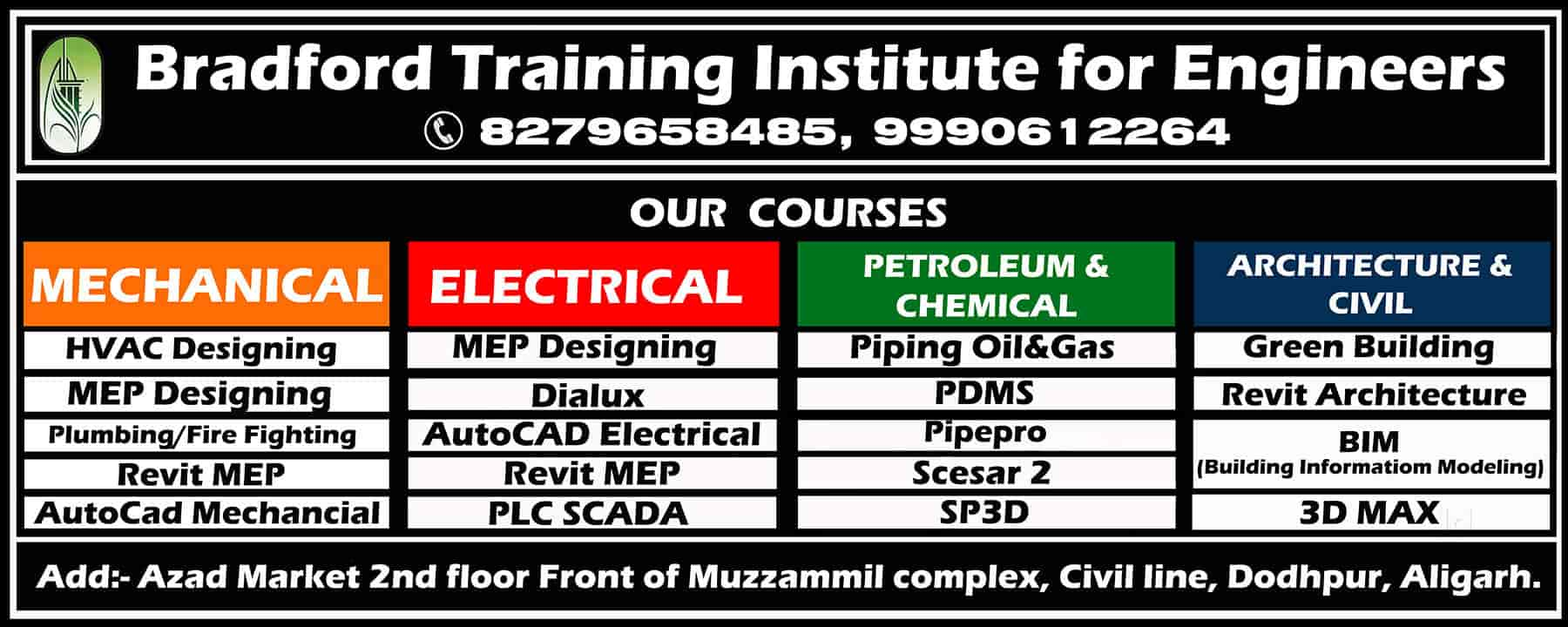 Bradford Training Institute For Engineers, Dodhpur