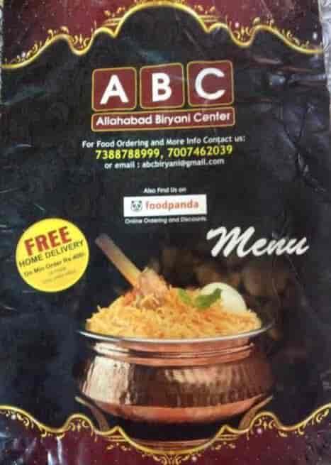 Abc Restaurant, Civil Lines, Allahabad - Pure Veg, Indian