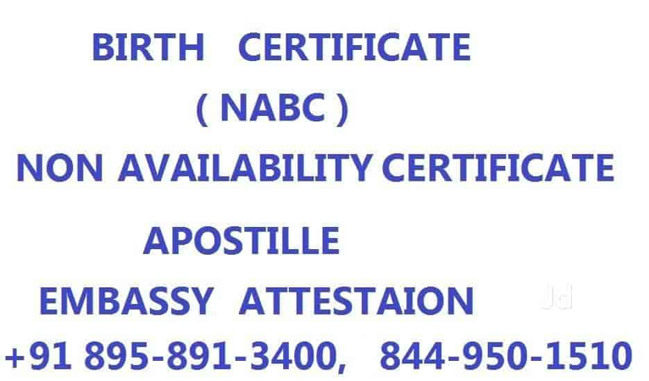Allahabad Birth Certificate Service, Civil Lines - Birth Certificate ...