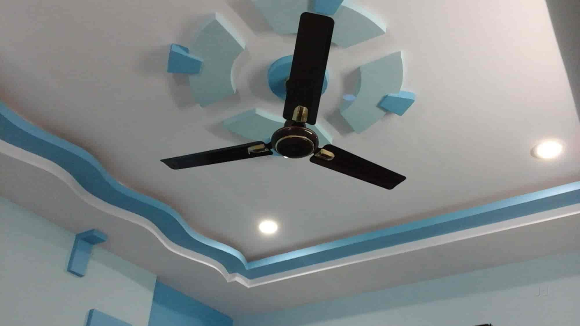 Hansika Plaster Of Paris Ceiling Works Photos Amalapuram Painting Contractors