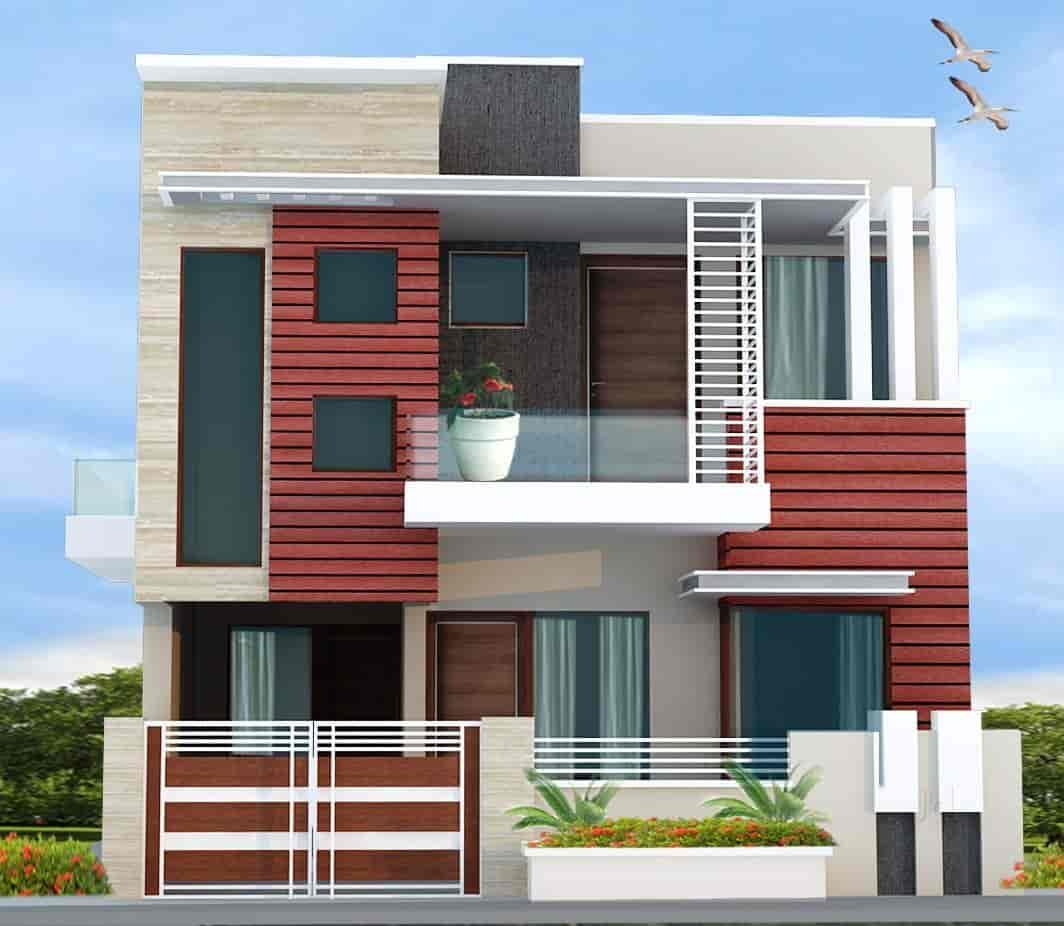 Exterior: Wedding House Building Front Elevation