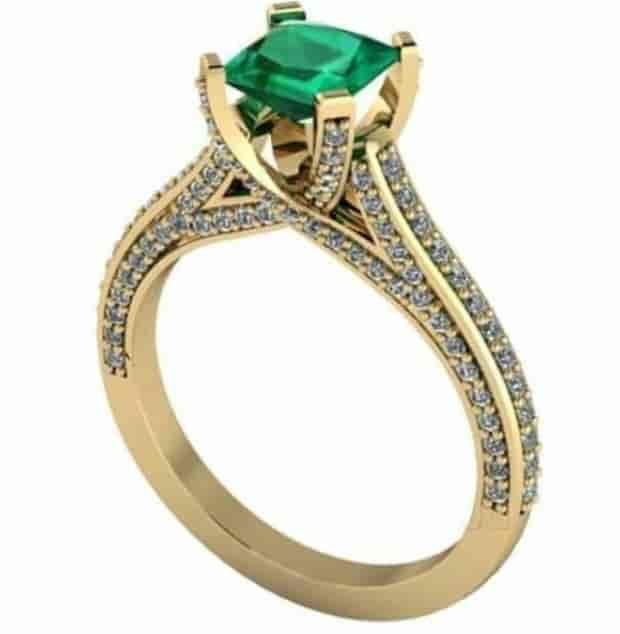 from mia rings diamond gold jewellery yellow by finger ring engagement tanishq