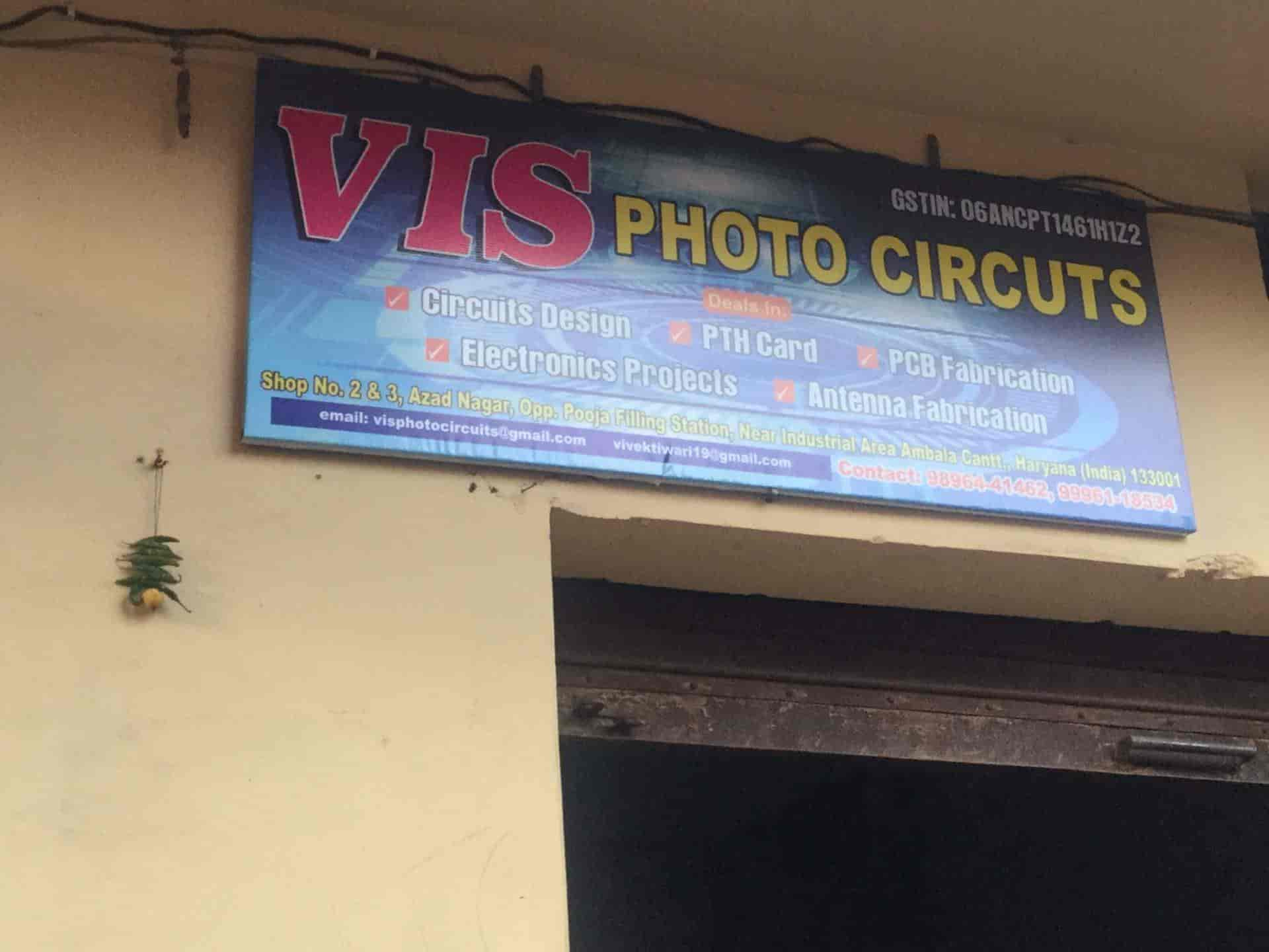 Vis Photo Circuit Cantt Foto Printed Board Electronic Design Services Designing In Ambala Justdial