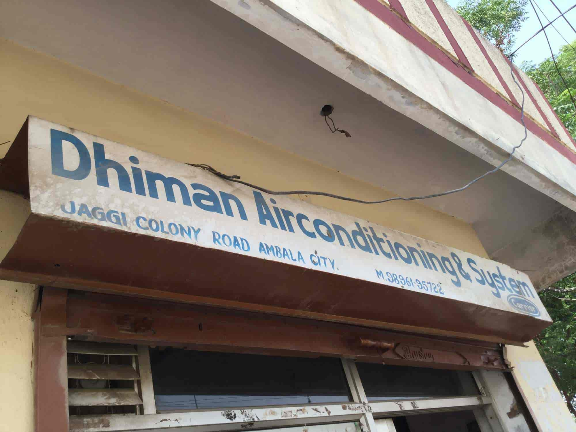 Dhiman Airconditioning System Authorised For Mitsubishi Heavy Vrf Signboard Or Ductable O