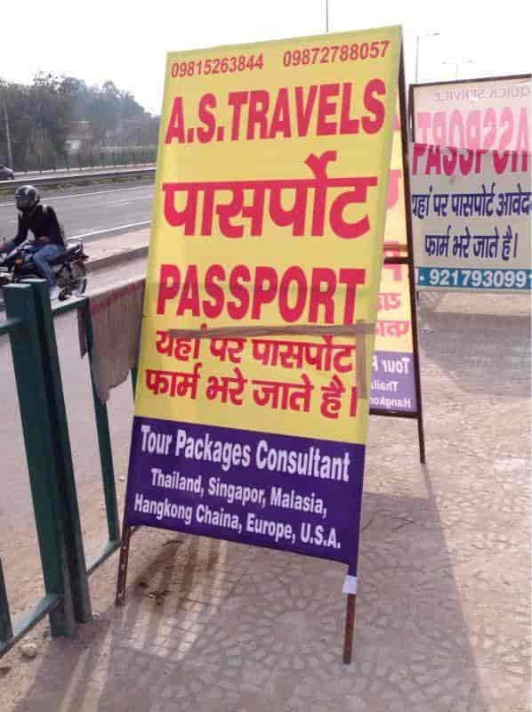 A  S  Travels Passport Advisor, Ambala City - Online