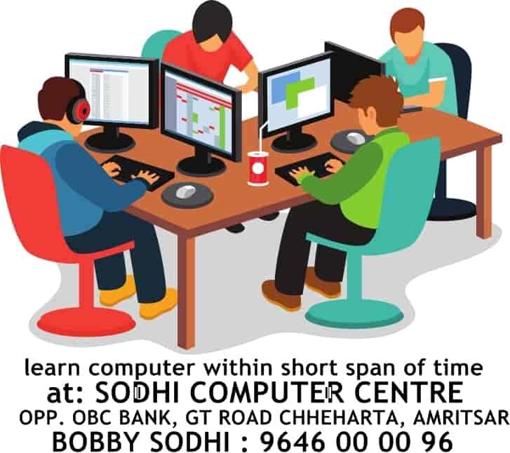 Sodhi Computer Centre Chheharta Autocad Training Institutes In