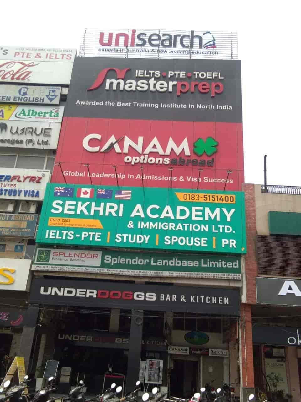 Canam Consultants Ltd, Ranjeet Avenue Block B - Overseas Education ...