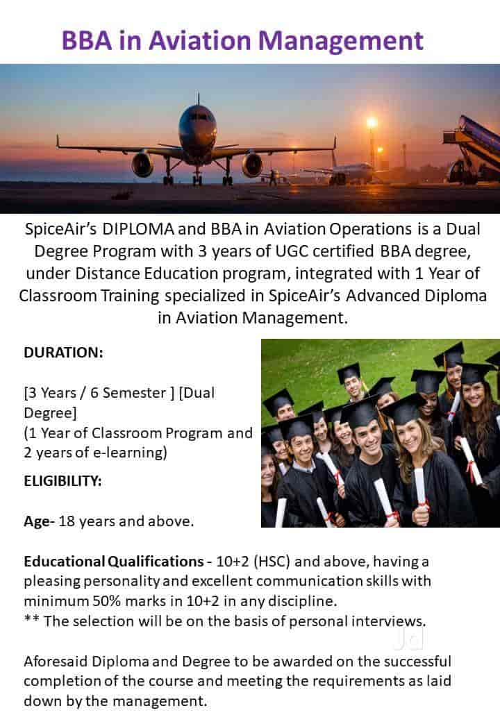 Spiceair Academy, Vallabh Vidyanagar - Air Hostess Training