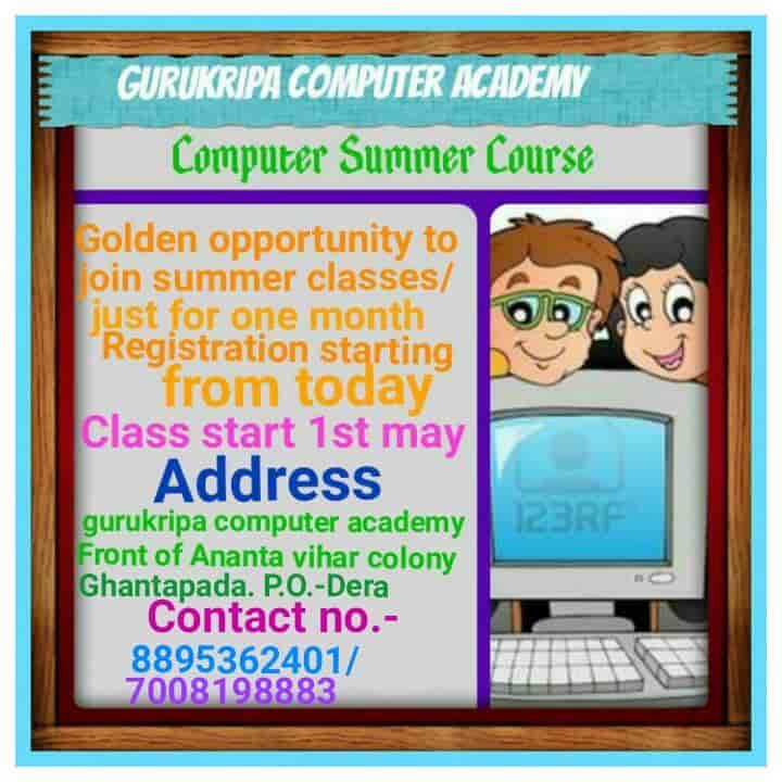 Gurukripa Computer Academy, Ghantapada - Tally Training