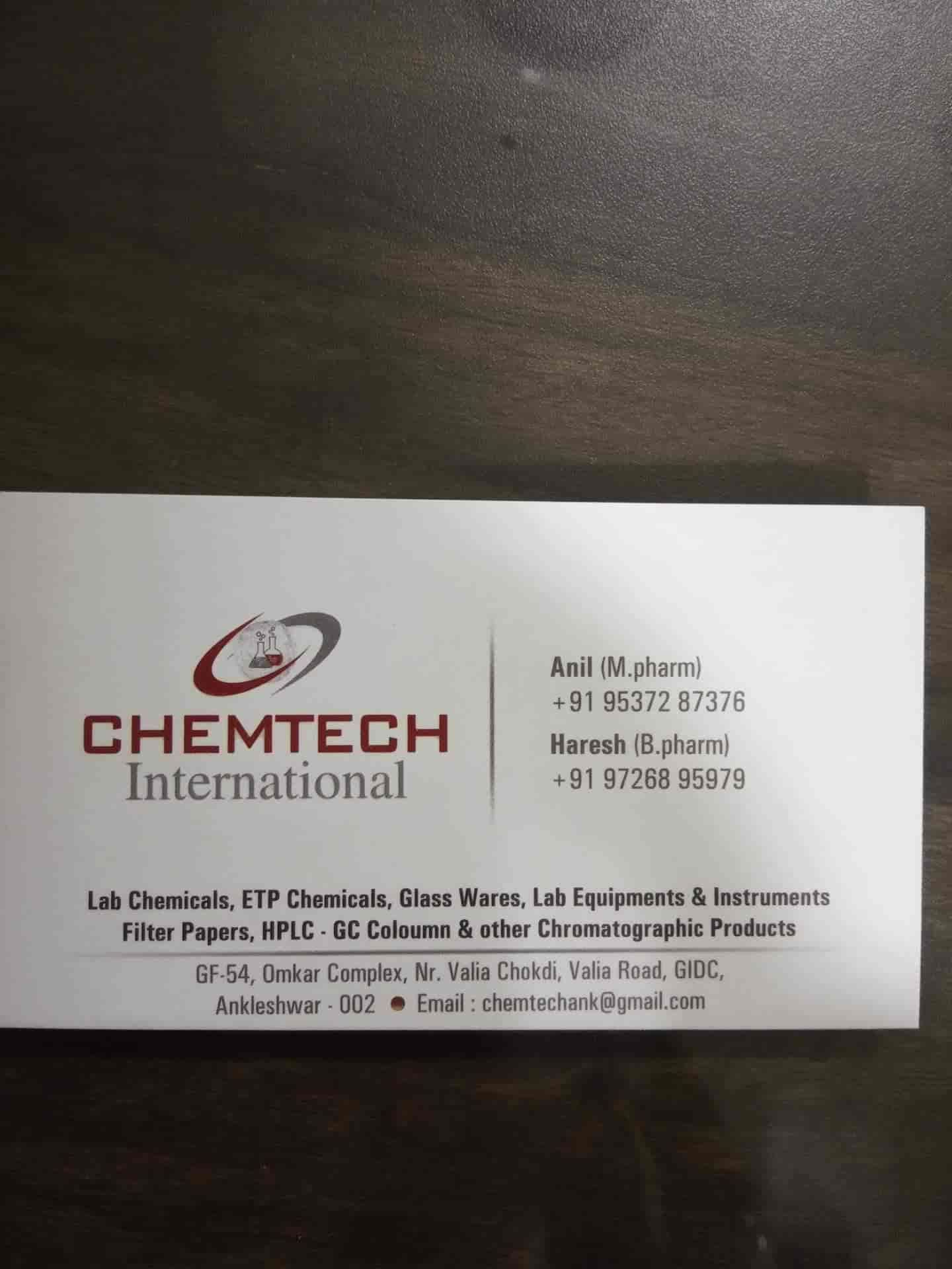 Chemtech International, GIDC - Lab Chemical Dealers in Ankleshwar