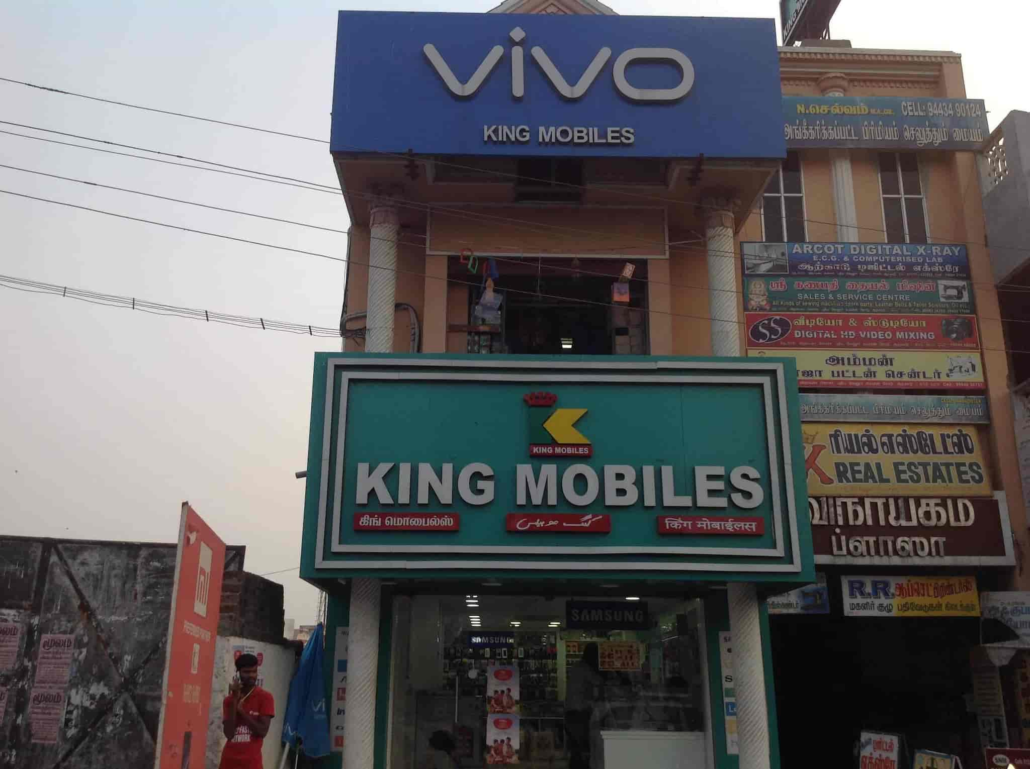 King Mobiles, Near Arcot Bus Stand Opposite - Mobile Phone Dealers