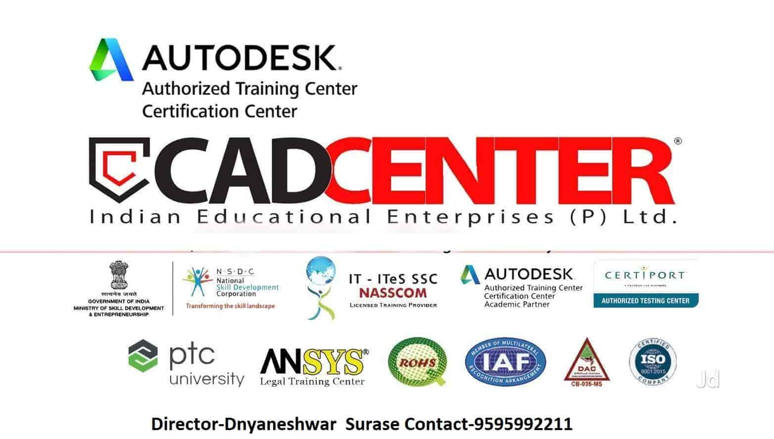 CADCENTER Autodesk Authorised Centre, Osmanpura - AUTOCAD Training