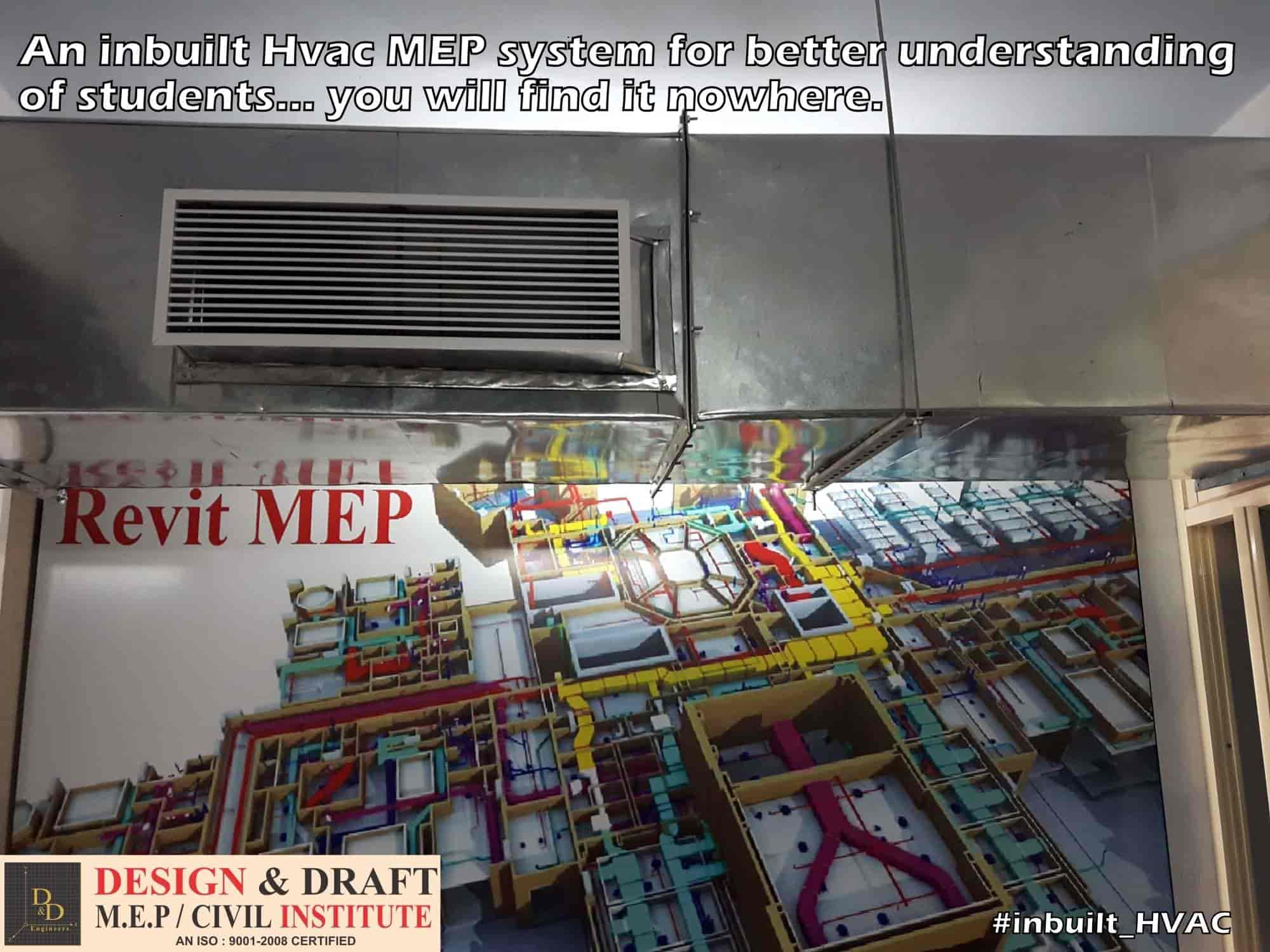 Design Draft Mep Institute Osmanpura Computer Training Hvac Drawing Autocad 2008 Institutes In Aurangabad Maharashtra Justdial
