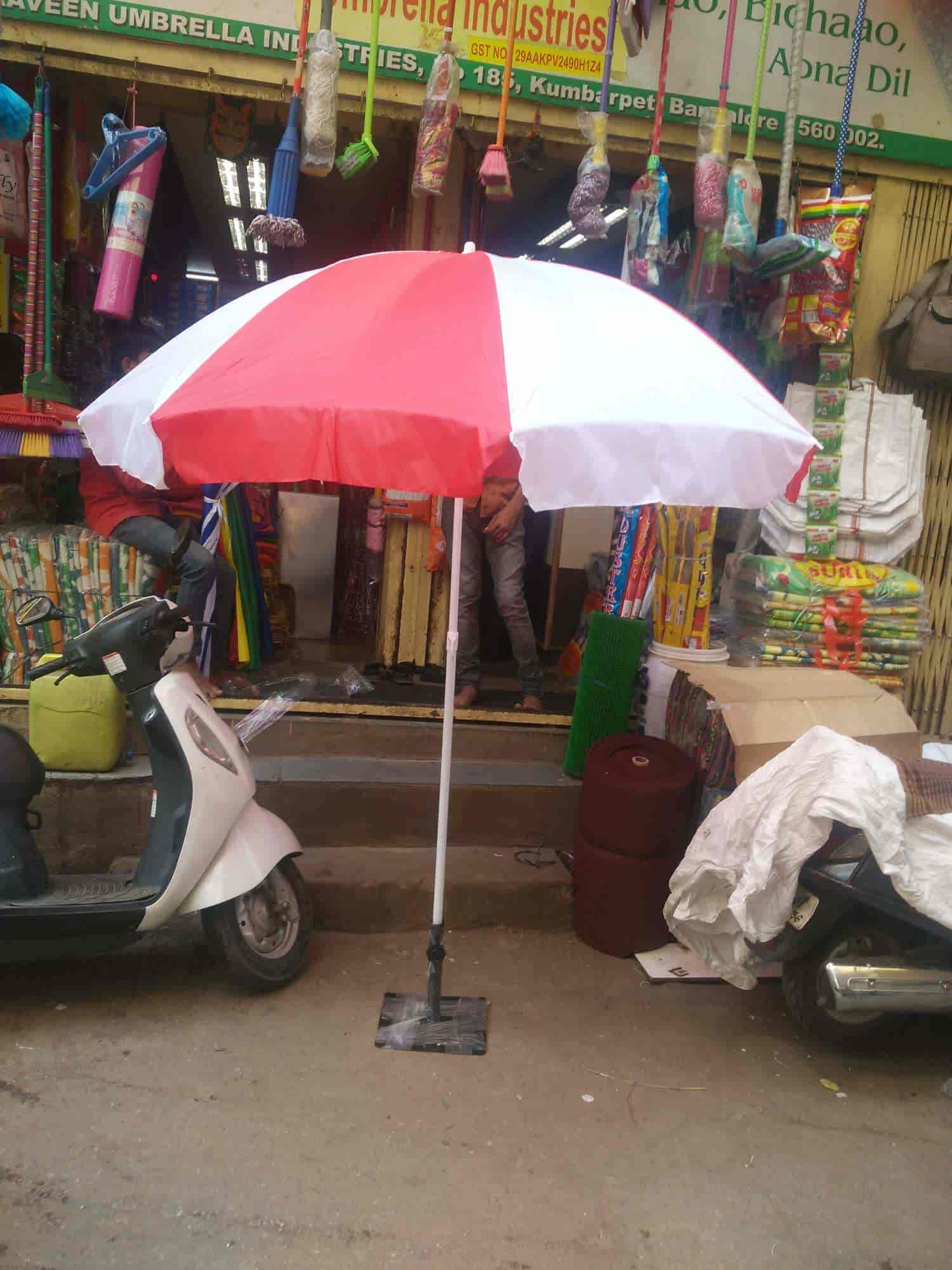 77621507dcfe9 ... Praveen Umbrella Industries Photos, Kumbarpet Road, Bangalore - Umbrella  Dealers ...