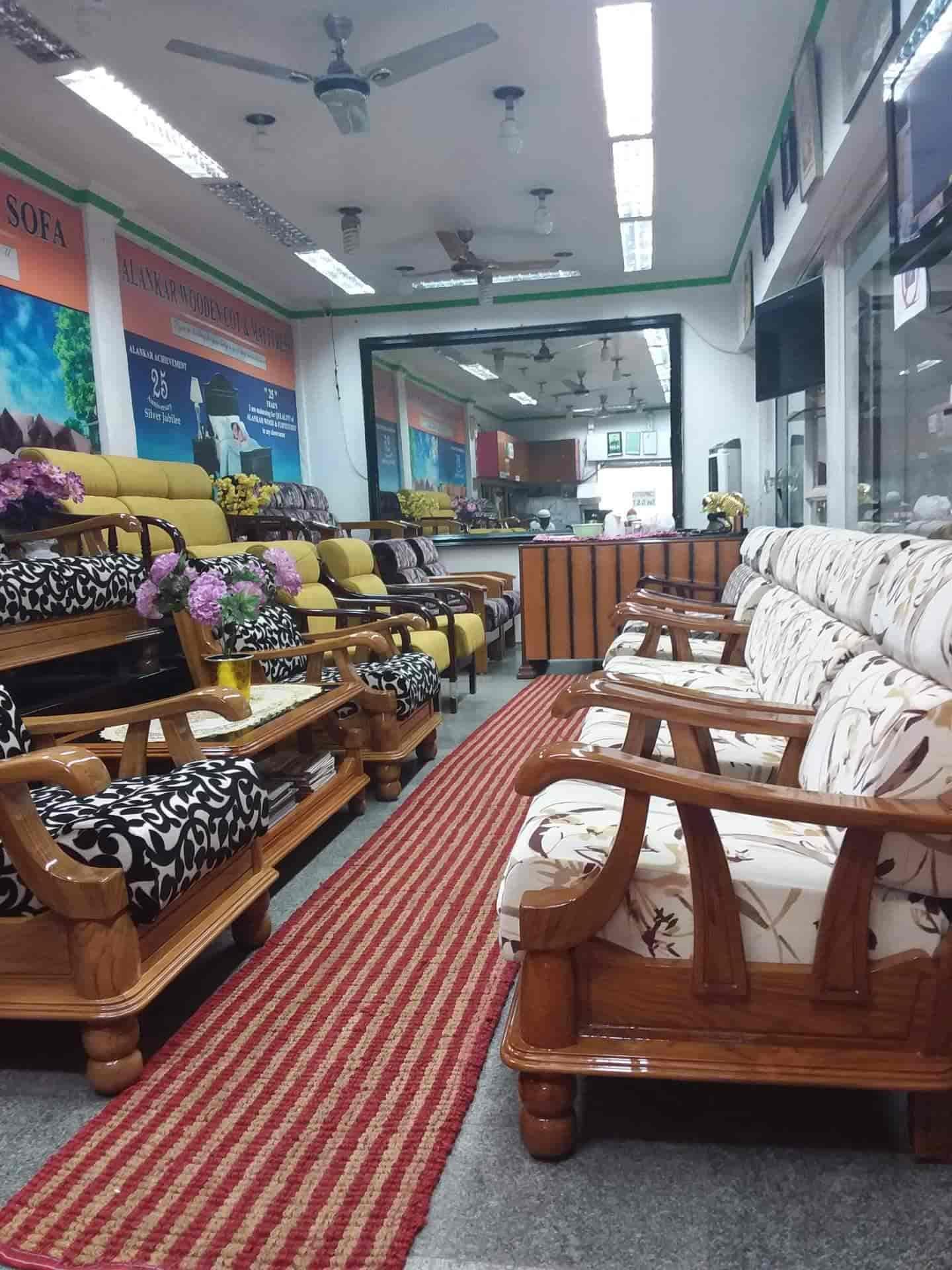 Alankar Wooden Furnitures Sofa Sets