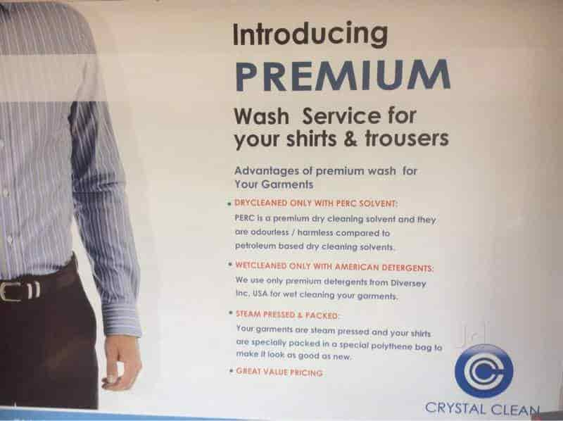 Crystal Clean Dry Cleaners, Indiranagar - Dry Cleaners in