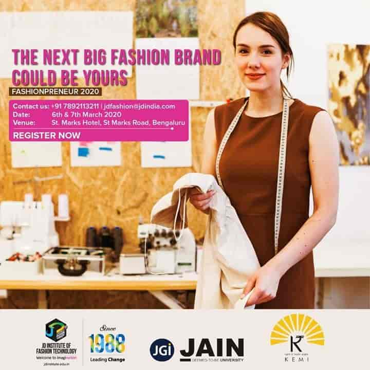 J D Institute Of Fashion Technology Lavelle Road Salons In Bangalore Justdial