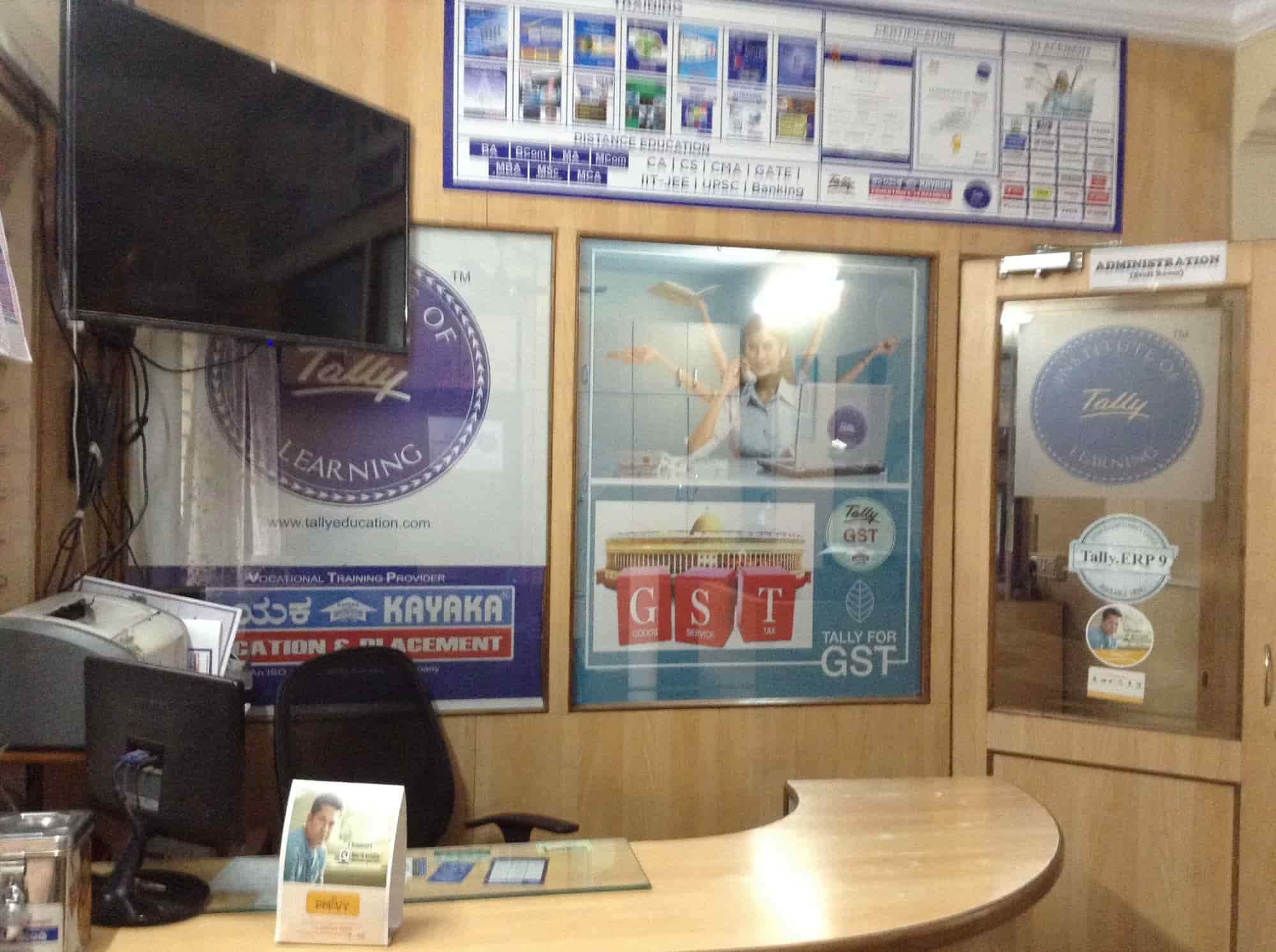 Kayaka It Solutions, Rajajinagar - Tally Training Institutes