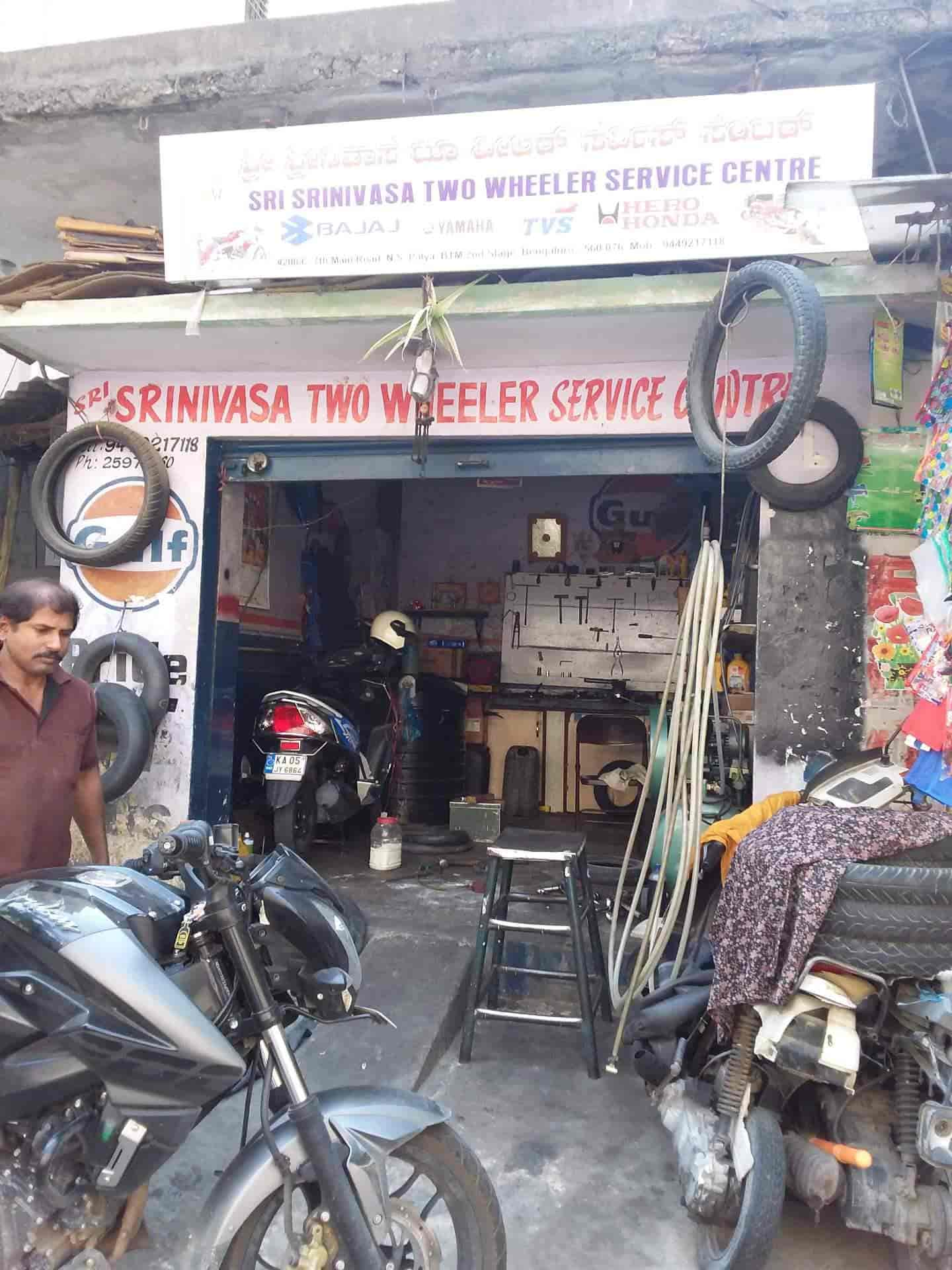Sri Srinivas Two Wheeler Service Center Btm Layout 2nd Stage Motorcycle Repair Services In Bangalore Justdial