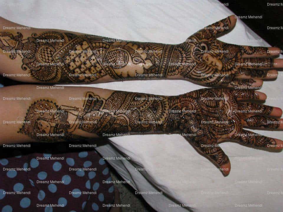 Bridal Mehndi In Bangalore : Dreamz bridal mehendi artist photos babusapalya bangalore