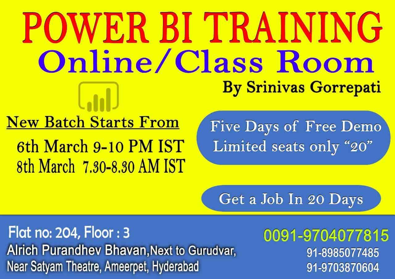 Power Bi Guru E Solutions Marathahalli Computer Training